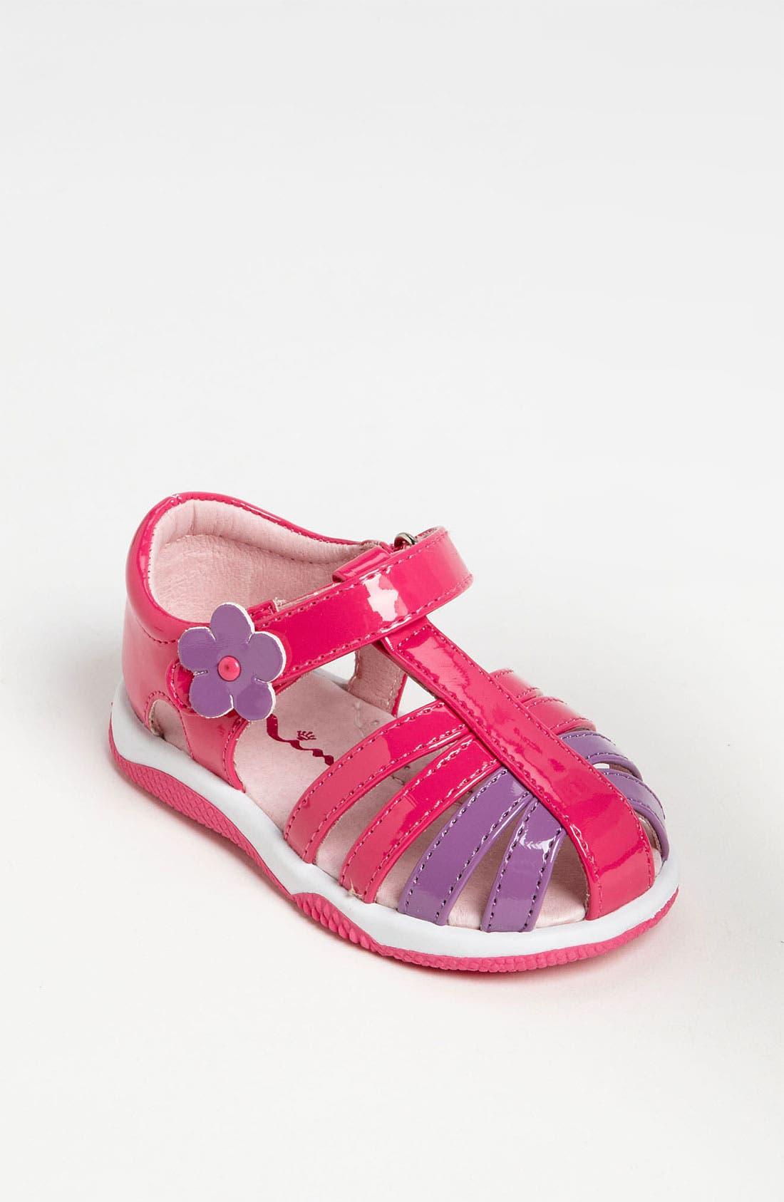 Alternate Image 1 Selected - Nina 'Stelle' Sandal (Baby, Walker & Toddler)