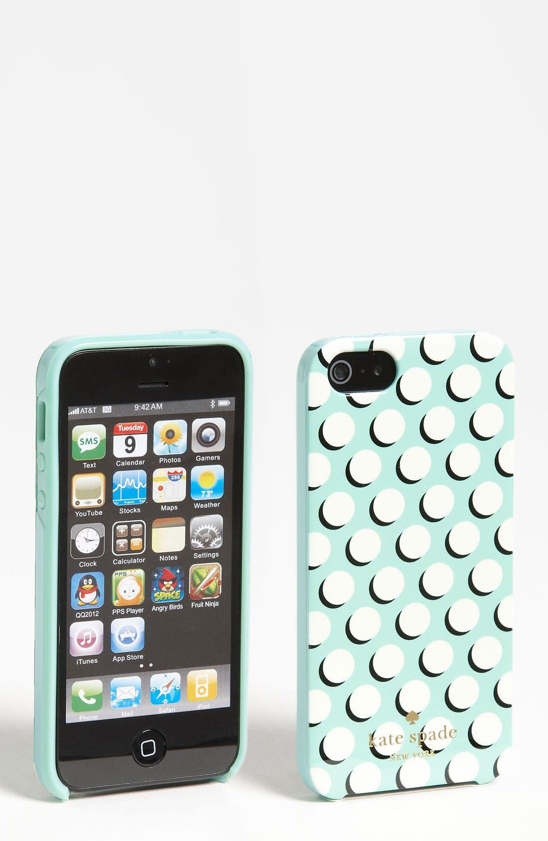 Main Image - kate spade new york iPhone 5 & 5S case