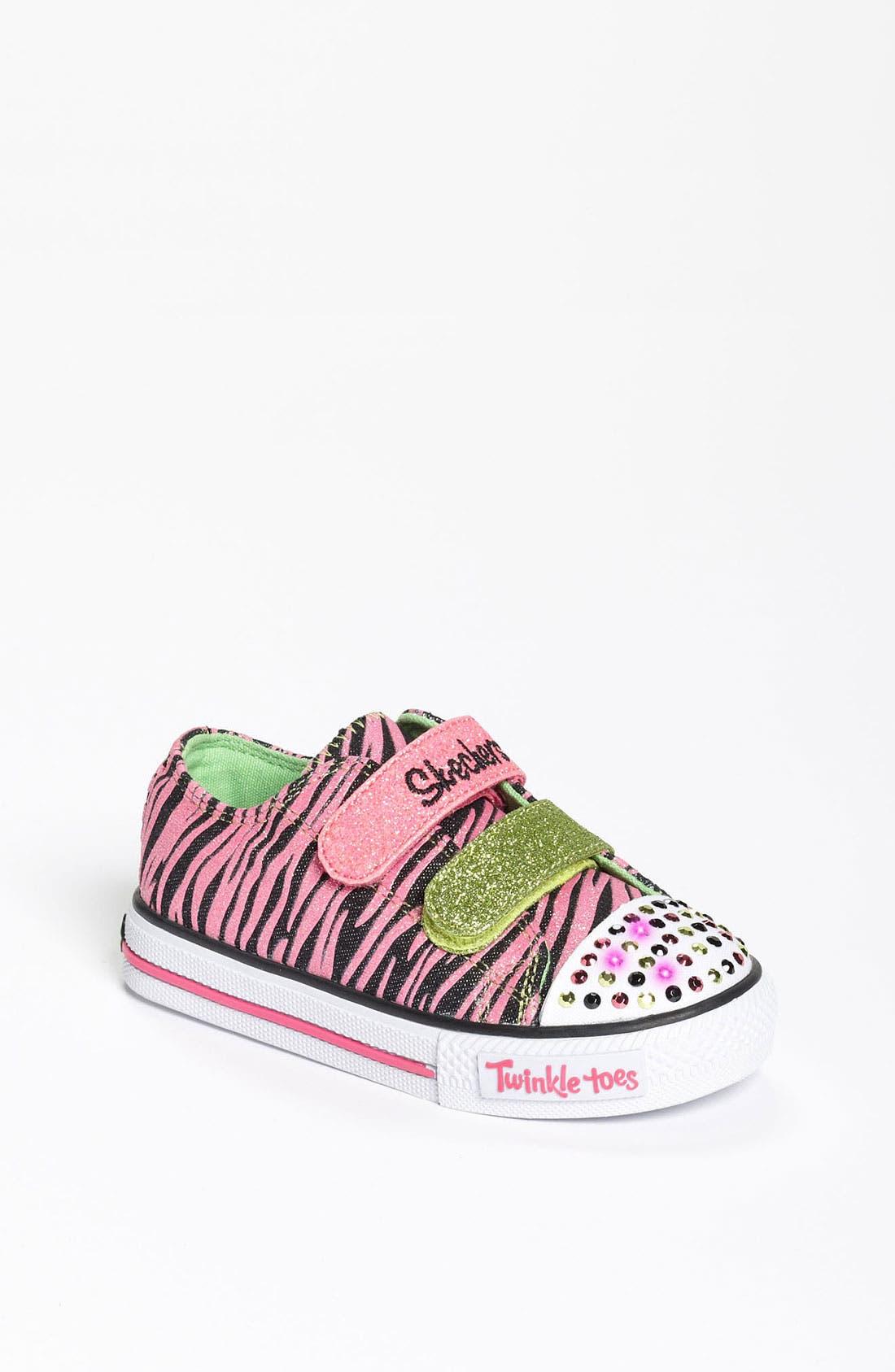 Main Image - SKECHERS 'Twinkle Toes' Light-Up Sneaker (Walker & Toddler)(Nordstrom Exclusive)