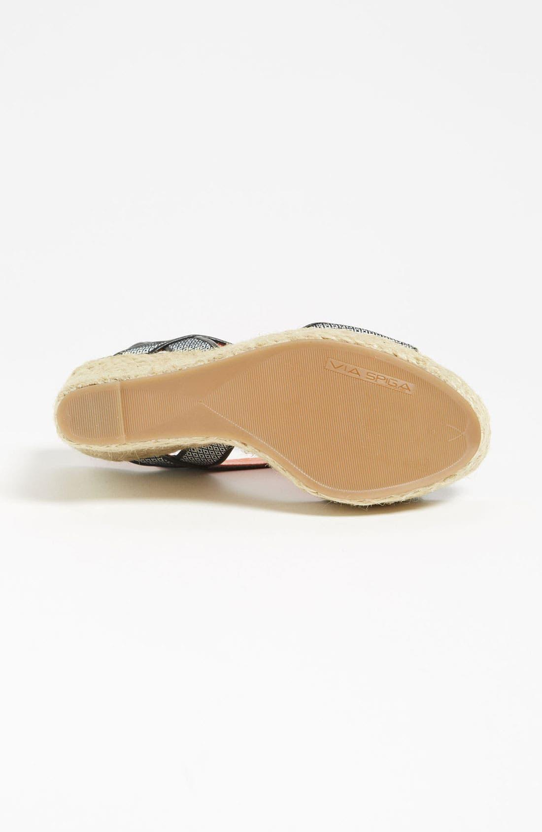 Alternate Image 4  - Via Spiga 'Kassiana' Wedge Sandal