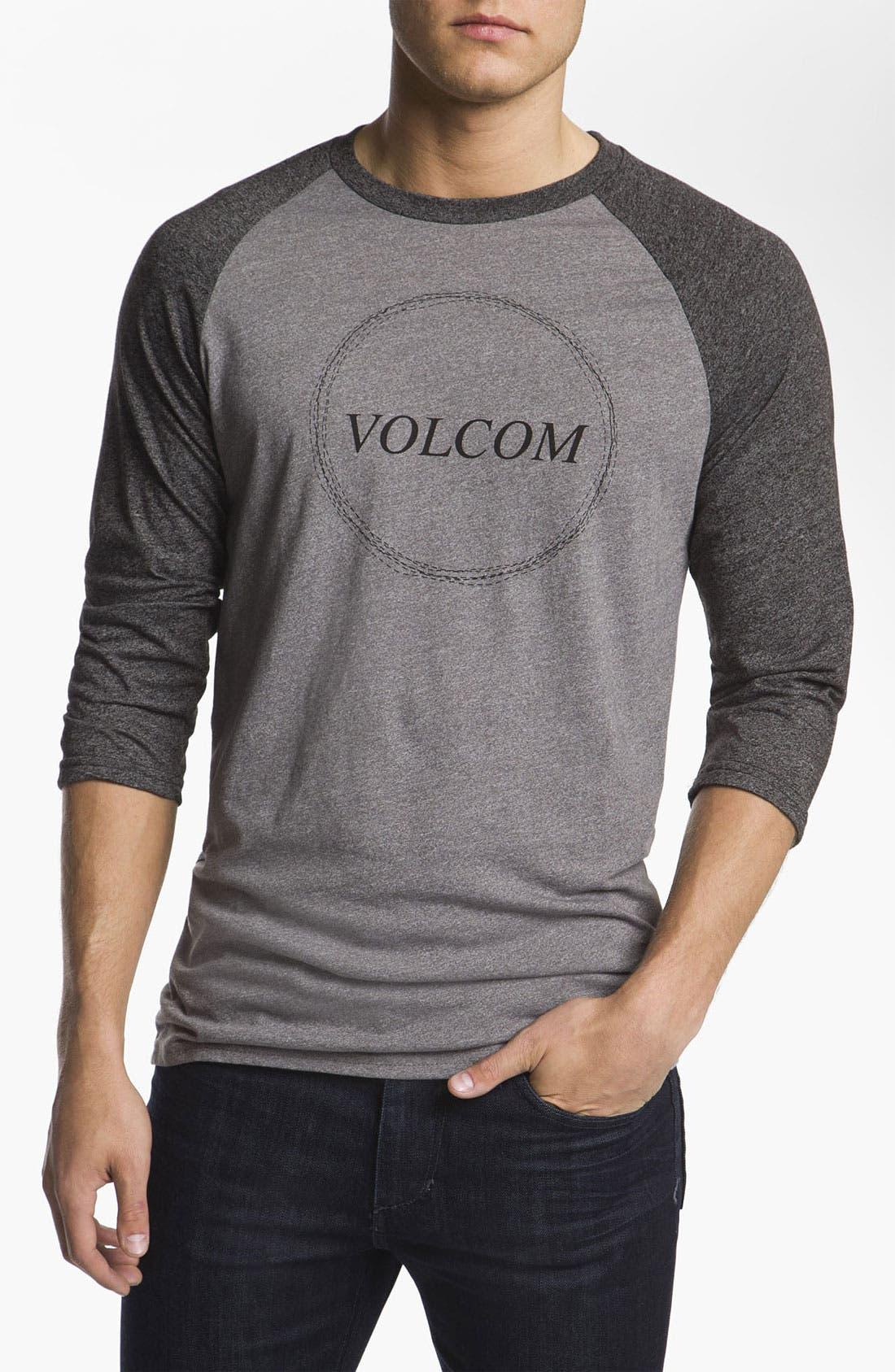 Alternate Image 1 Selected - Volcom 'Cleaner' Baseball T-Shirt