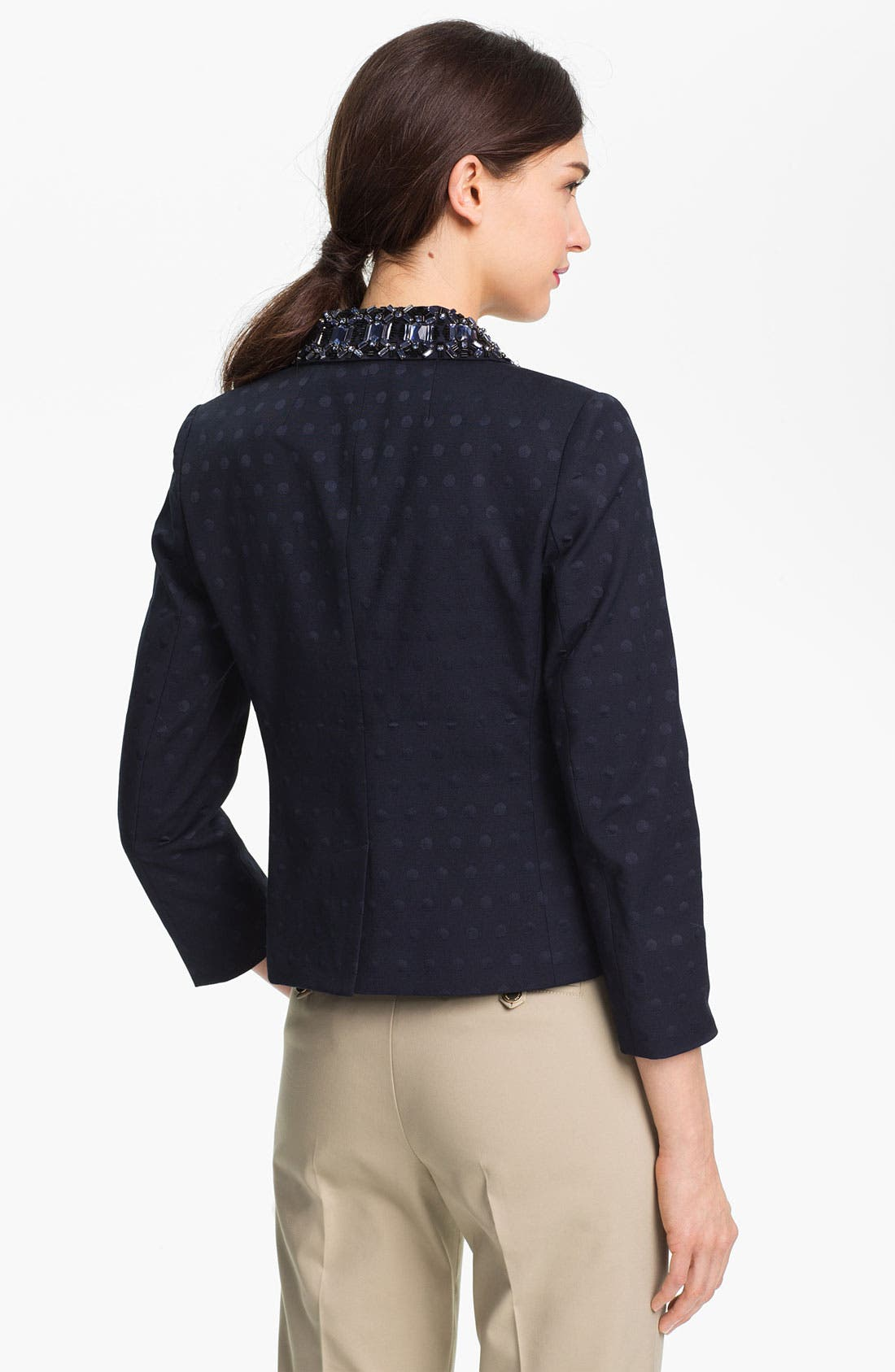 Alternate Image 2  - Tory Burch 'Jaclyn' Embellished Blazer