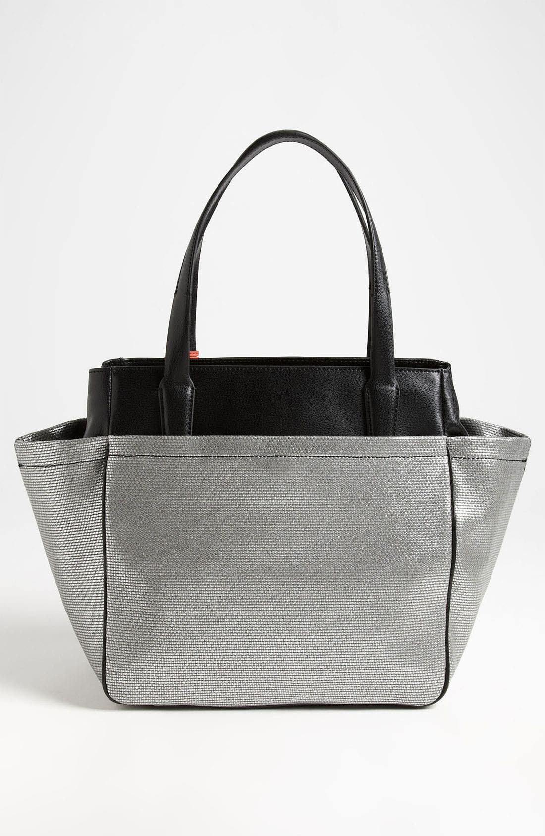 Alternate Image 4  - Diane von Furstenberg 'On The Go' Metallic Canvas & Leather Tote