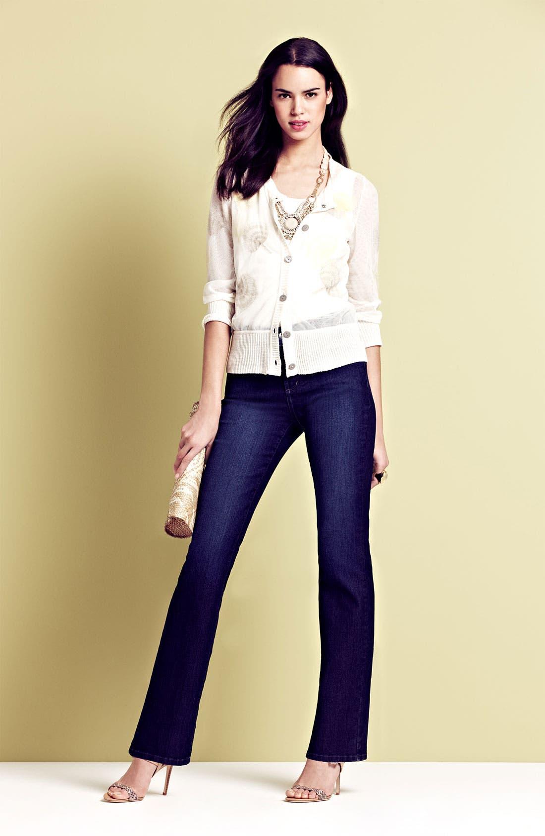 Main Image - NYDJ 'Barbara' Jeans, Nic + Zoe Cardigan & Tank