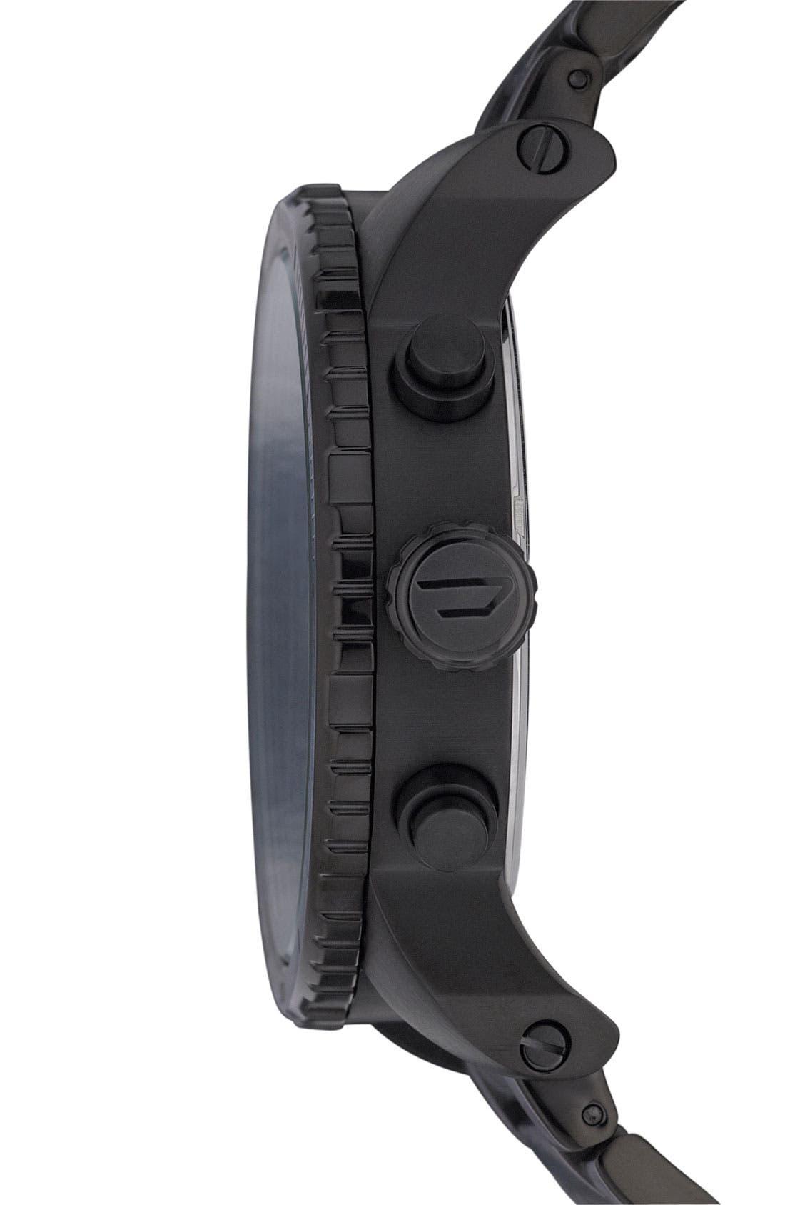 Alternate Image 4  - DIESEL® 'Double Down' Chronograph Bracelet Watch, 51mm