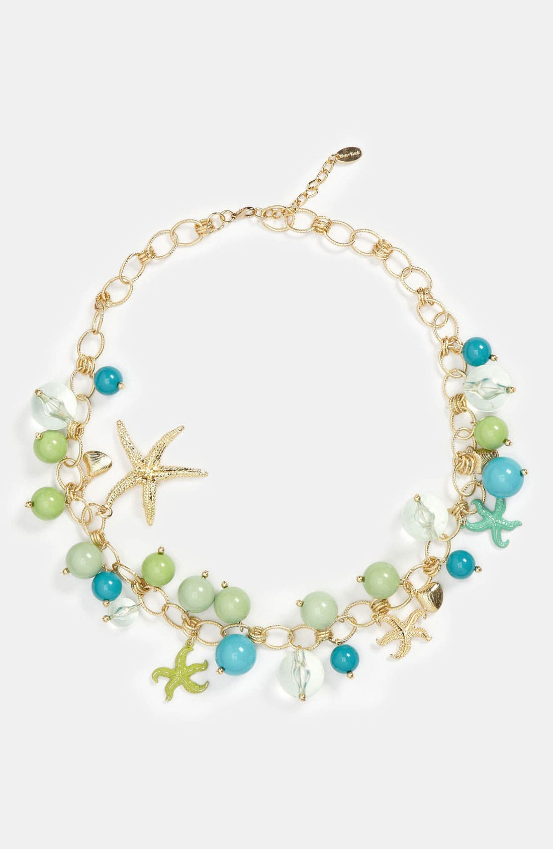 Main Image - Cara 'Under the Sea' Charm Necklace