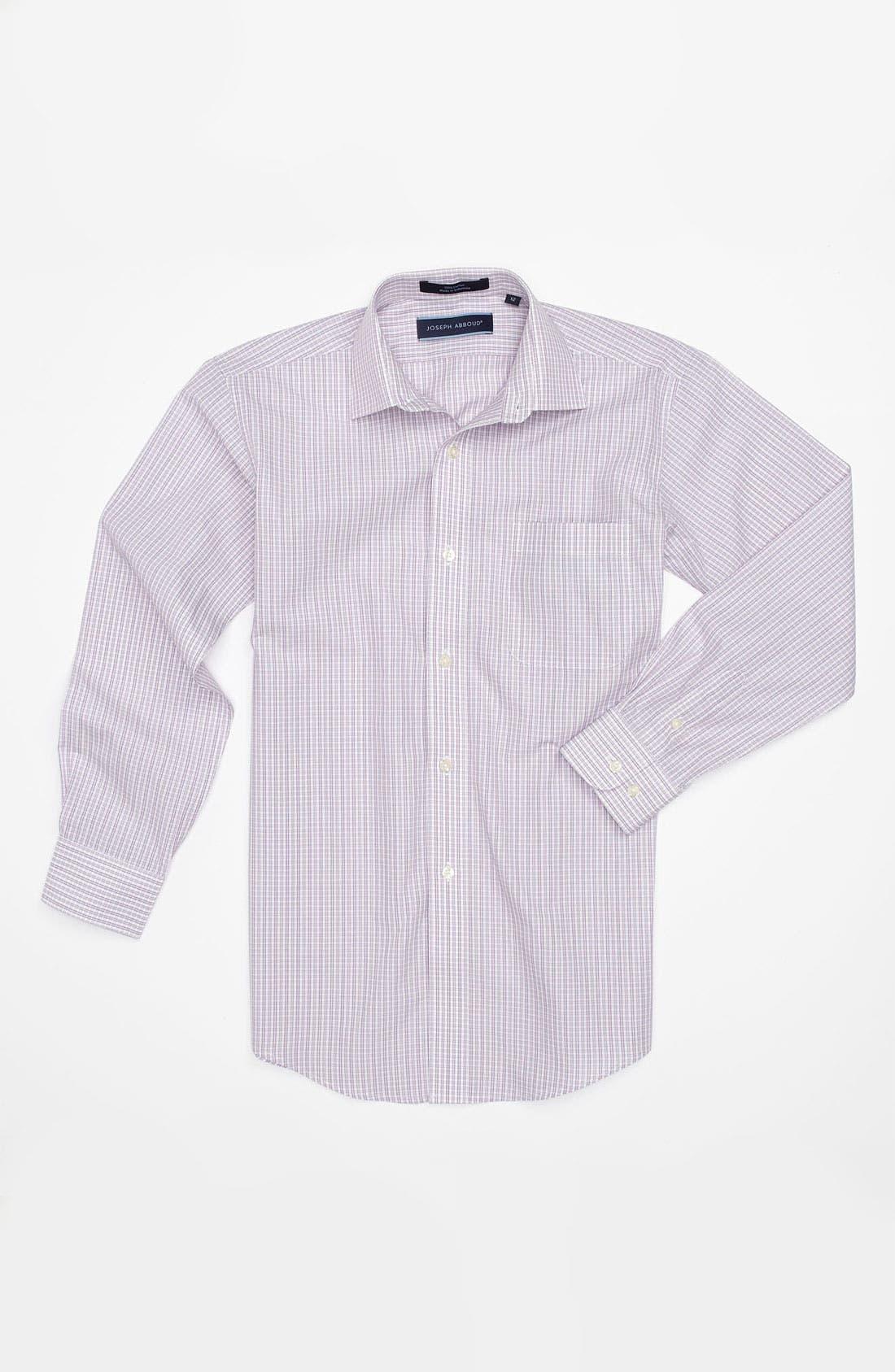Alternate Image 1 Selected - Joseph Abboud Dress Shirt (Big Boys)