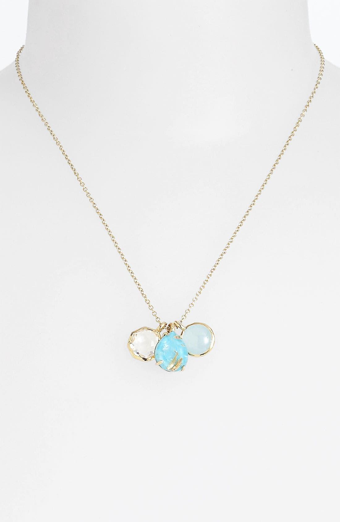 Alternate Image 1 Selected - Ippolita 'Rock Candy - Gelato' 18k Gold Cluster Pendant Necklace