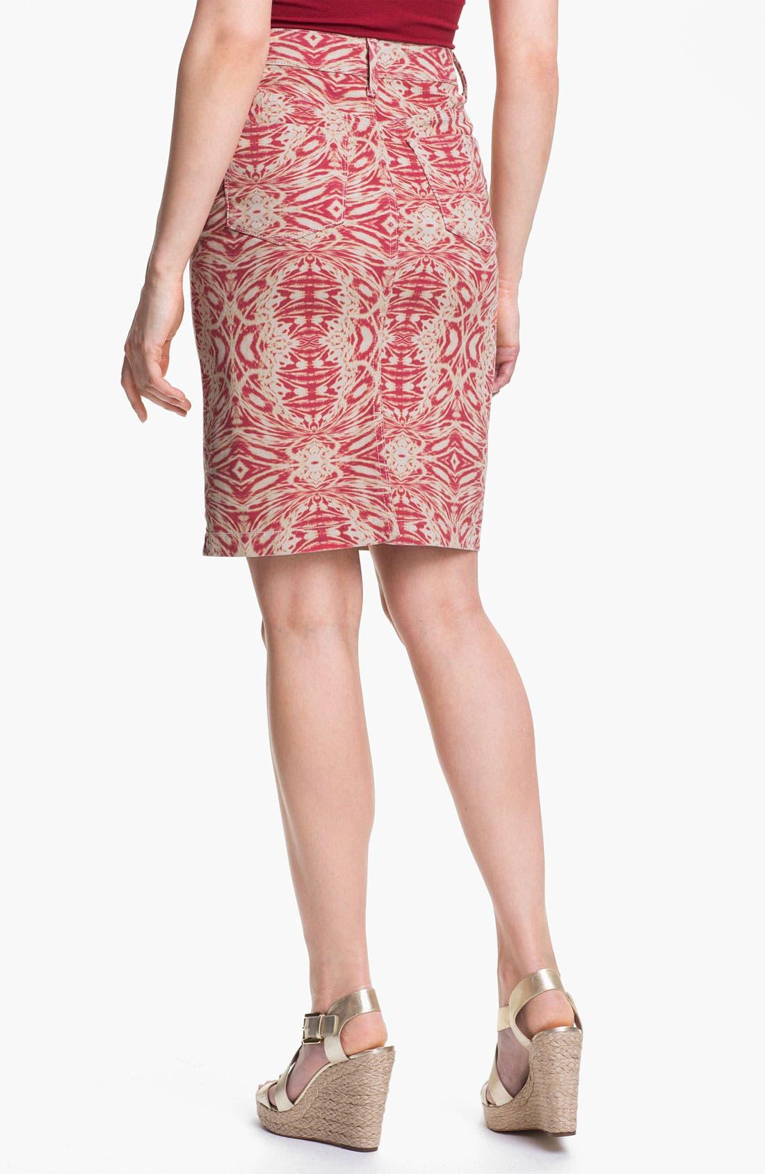 Alternate Image 4  - NYDJ 'Emma' Stretch Twill Skirt