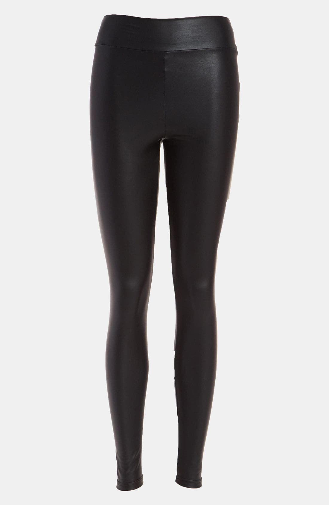 Alternate Image 1 Selected - MINKPINK 'Greased Lightning' High Waist Leggings