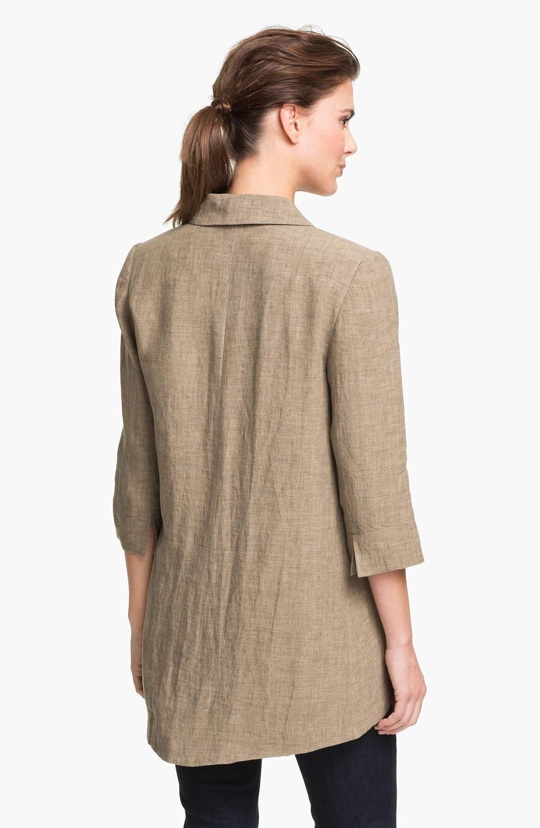 Alternate Image 2  - Alberto Makali Linen Jacket