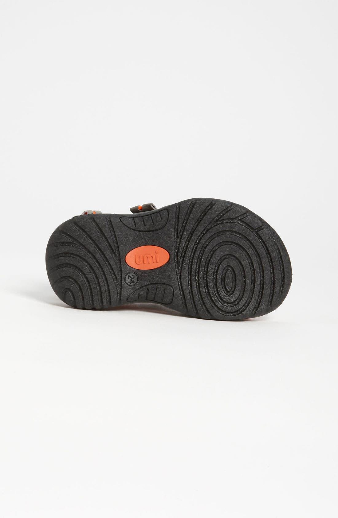 Alternate Image 4  - Umi 'Laren' Sandal (Walker, Toddler, Little Kid & Big Kid)