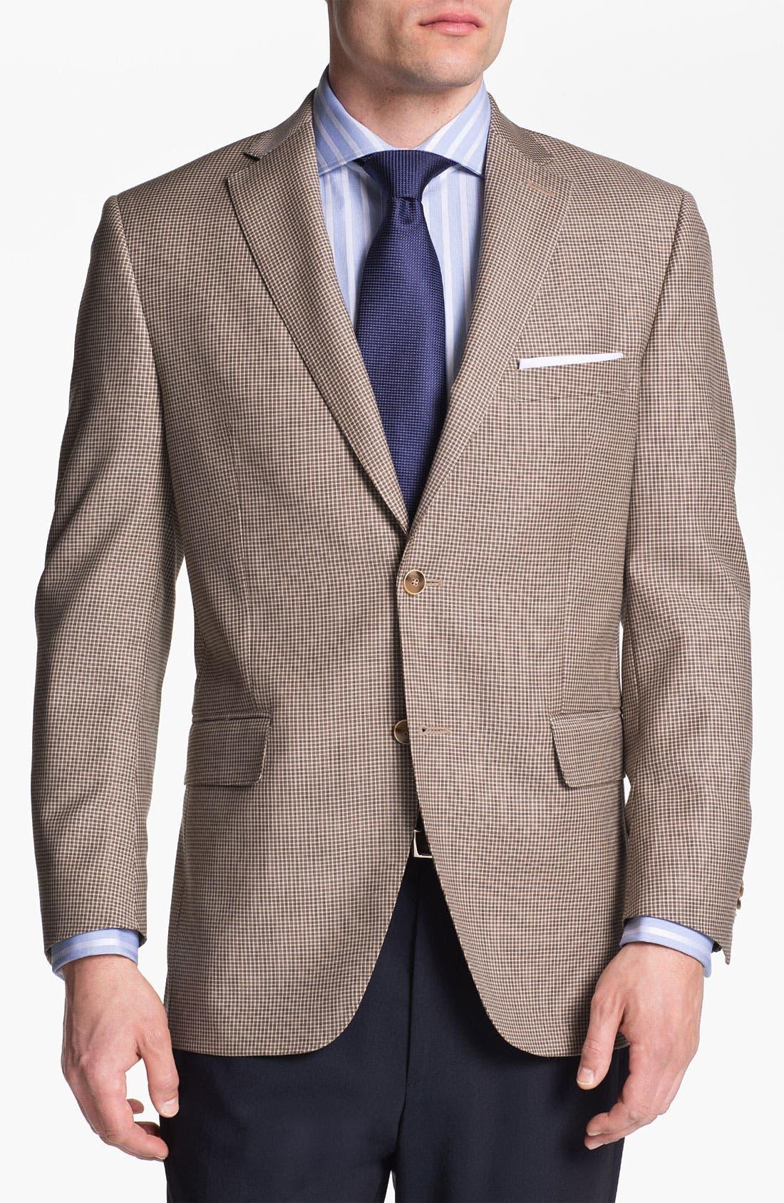 Alternate Image 1 Selected - Peter Millar Check Sportcoat