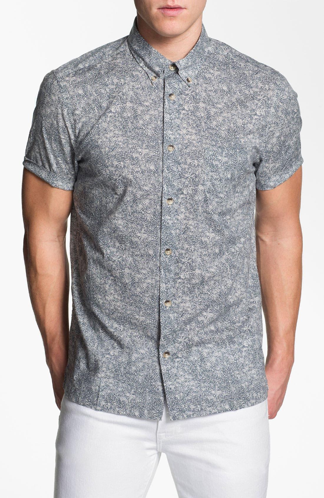 Main Image - PLECTRUM by Ben Sherman Print Woven Shirt