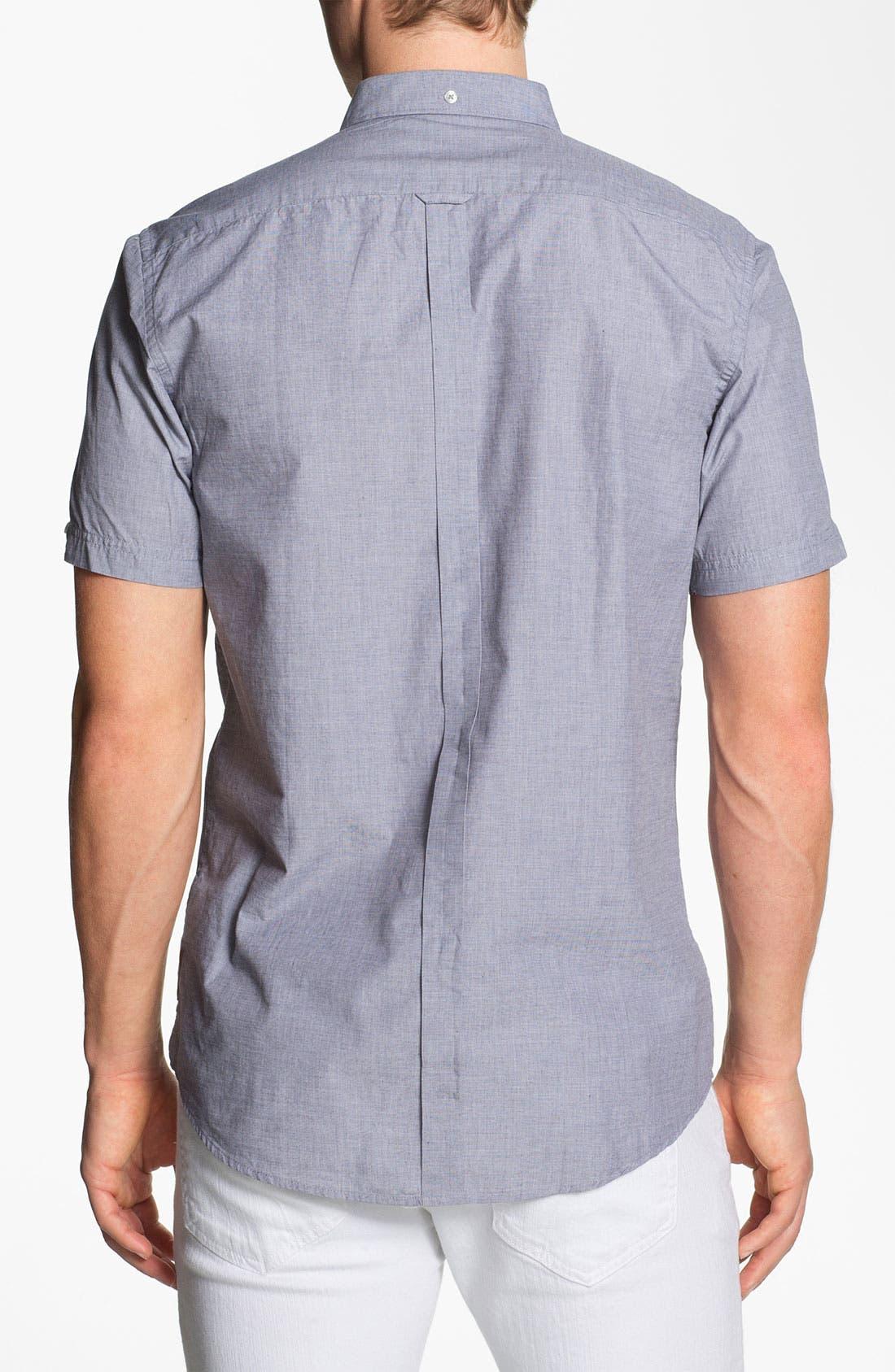 Alternate Image 2  - Ben Sherman End on End Woven Shirt