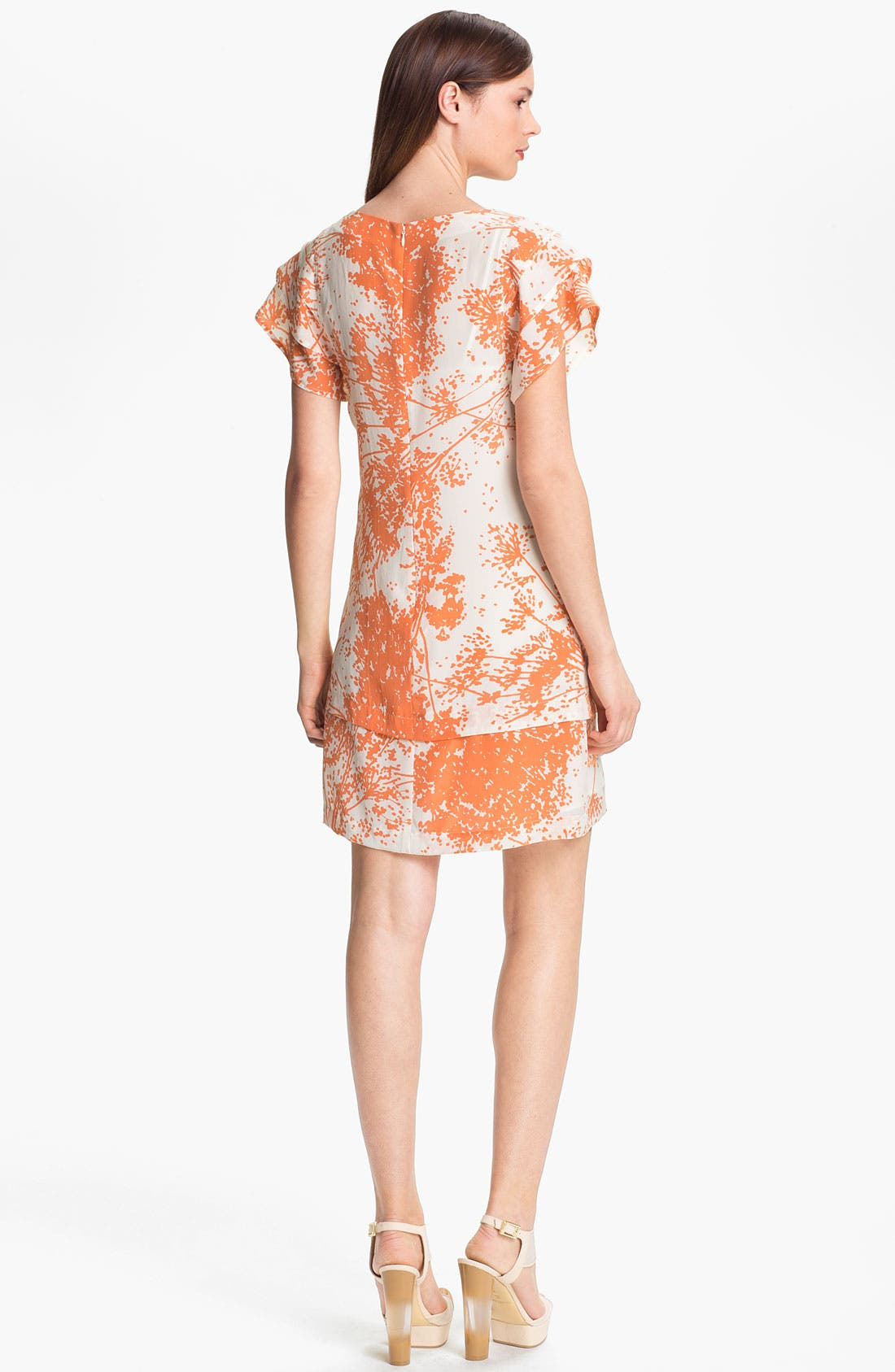 Alternate Image 2  - Rachel Zoe 'Ines' Tiered Sleeve Shift Dress