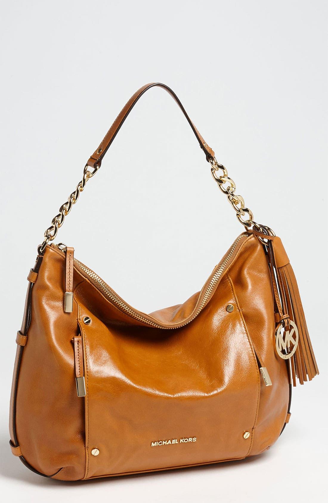 Alternate Image 1 Selected - MICHAEL Michael Kors 'Devon - Large' Leather Shoulder Bag