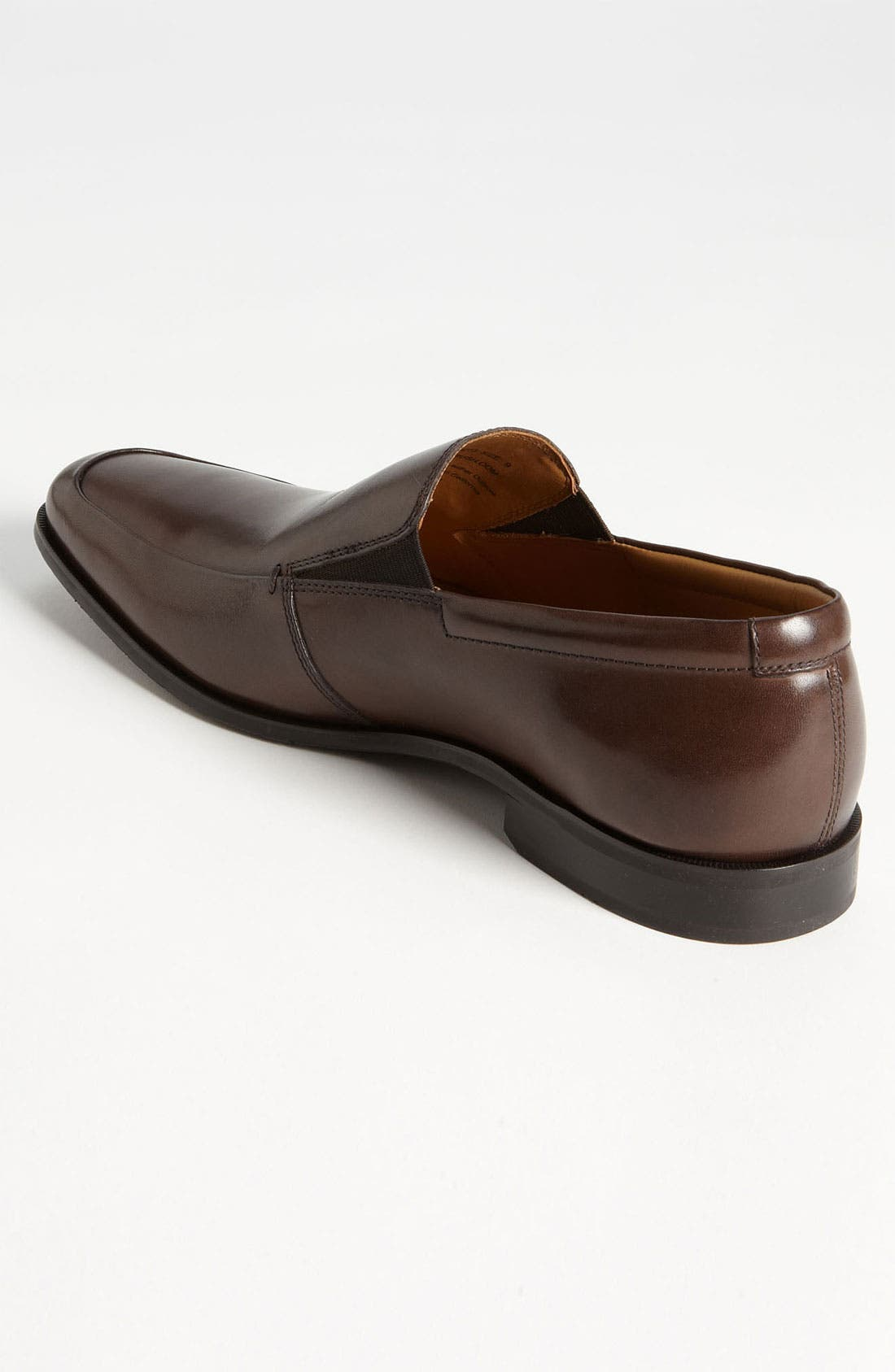 'Elliot' Venetian Loafer,                             Alternate thumbnail 2, color,                             Brown Leather