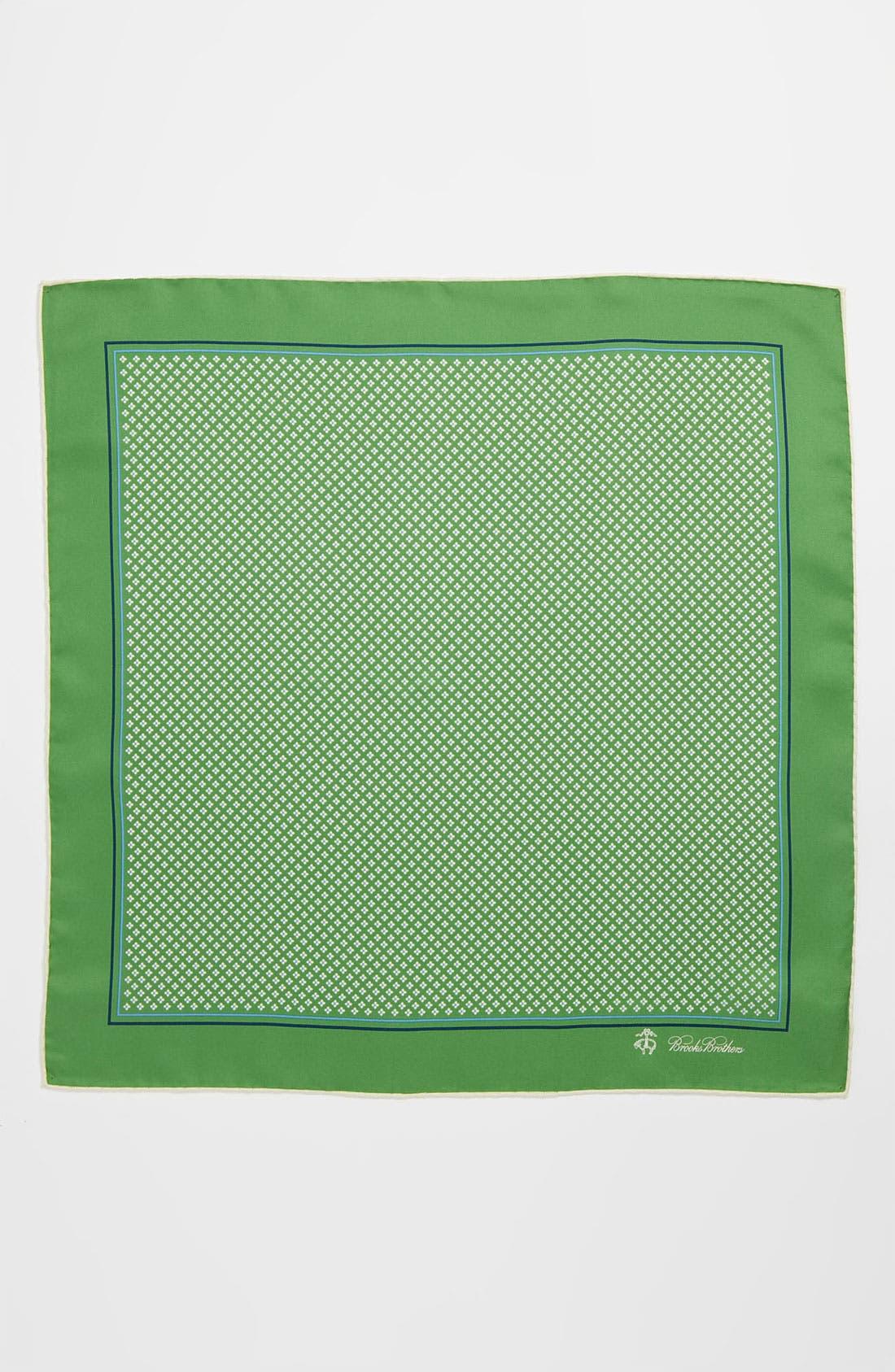 Alternate Image 2  - Brooks Brothers Silk Pocket Square