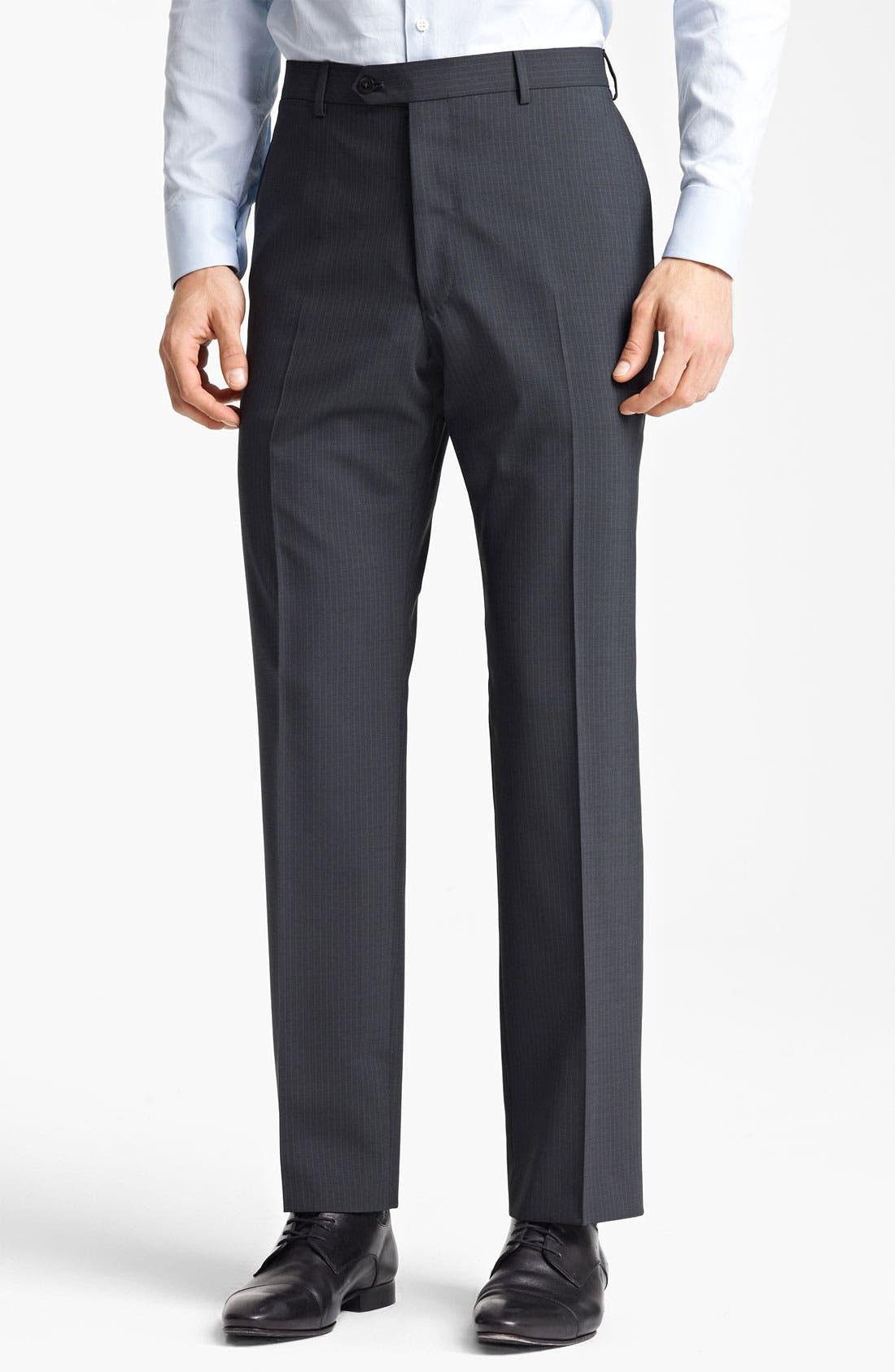 Alternate Image 4  - Armani Collezioni 'Giorgio' Pinstripe Suit