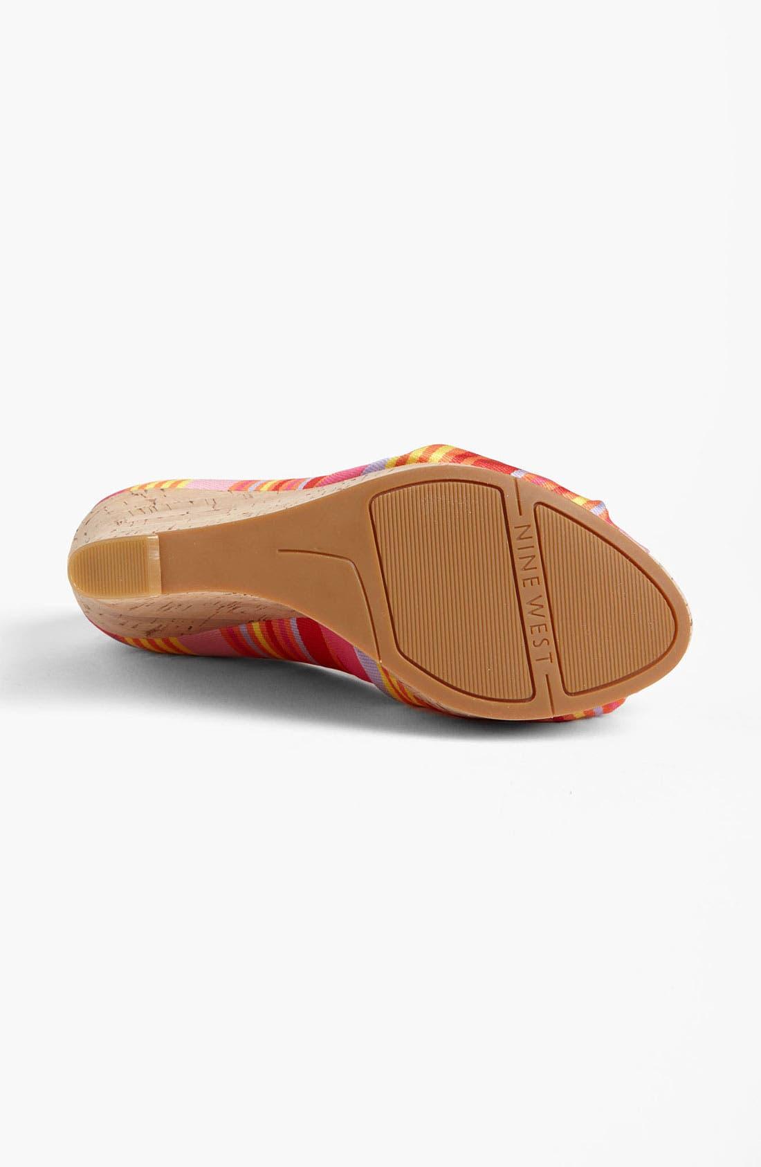 Alternate Image 4  - Nine West 'Chillpill' Sandal