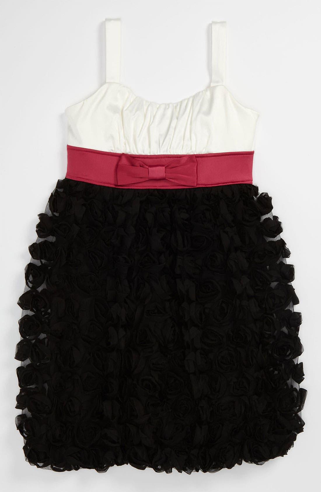 Alternate Image 1 Selected - Roxette Colorblock Dress (Big Girls)