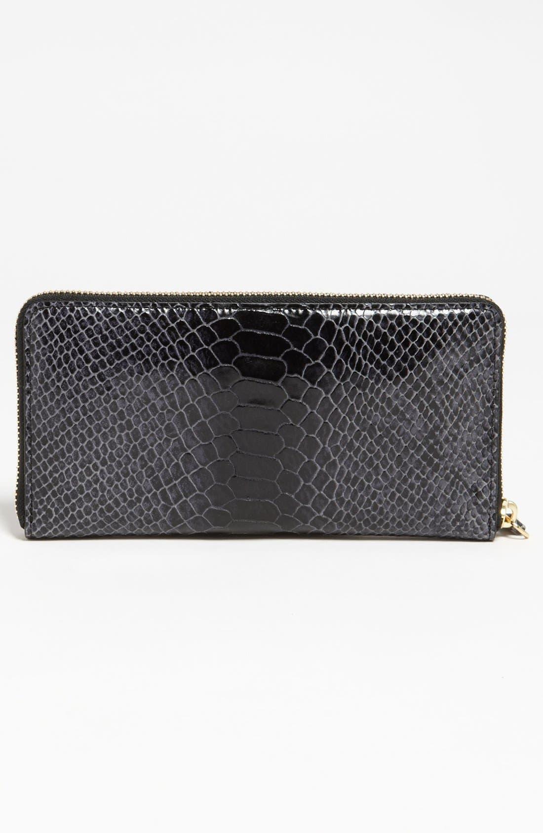 Alternate Image 3  - Milly 'Claudia' Snake Embossed Wallet