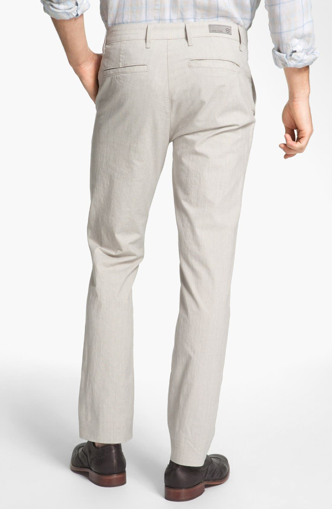 Alternate Image 2  - AG Jeans Slim Fit Trousers