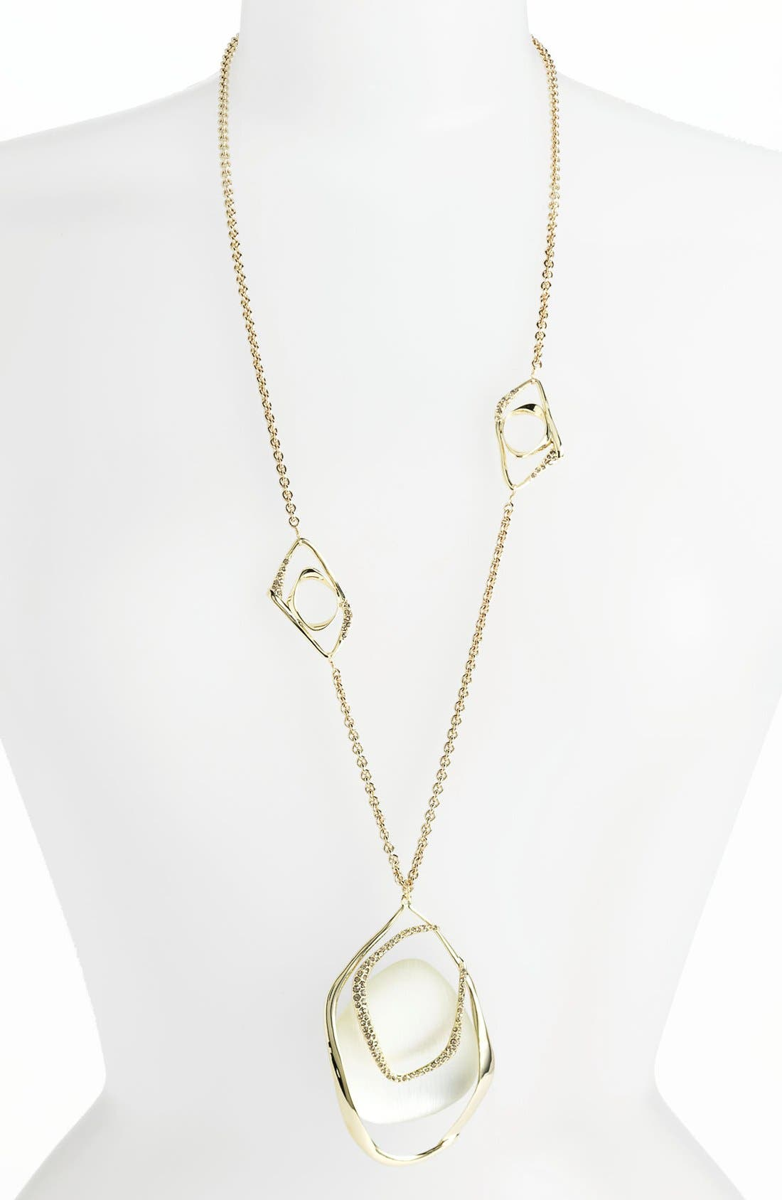 Alternate Image 1 Selected - Alexis Bittar 'Lucite® - Mod' Long Pendant Necklace