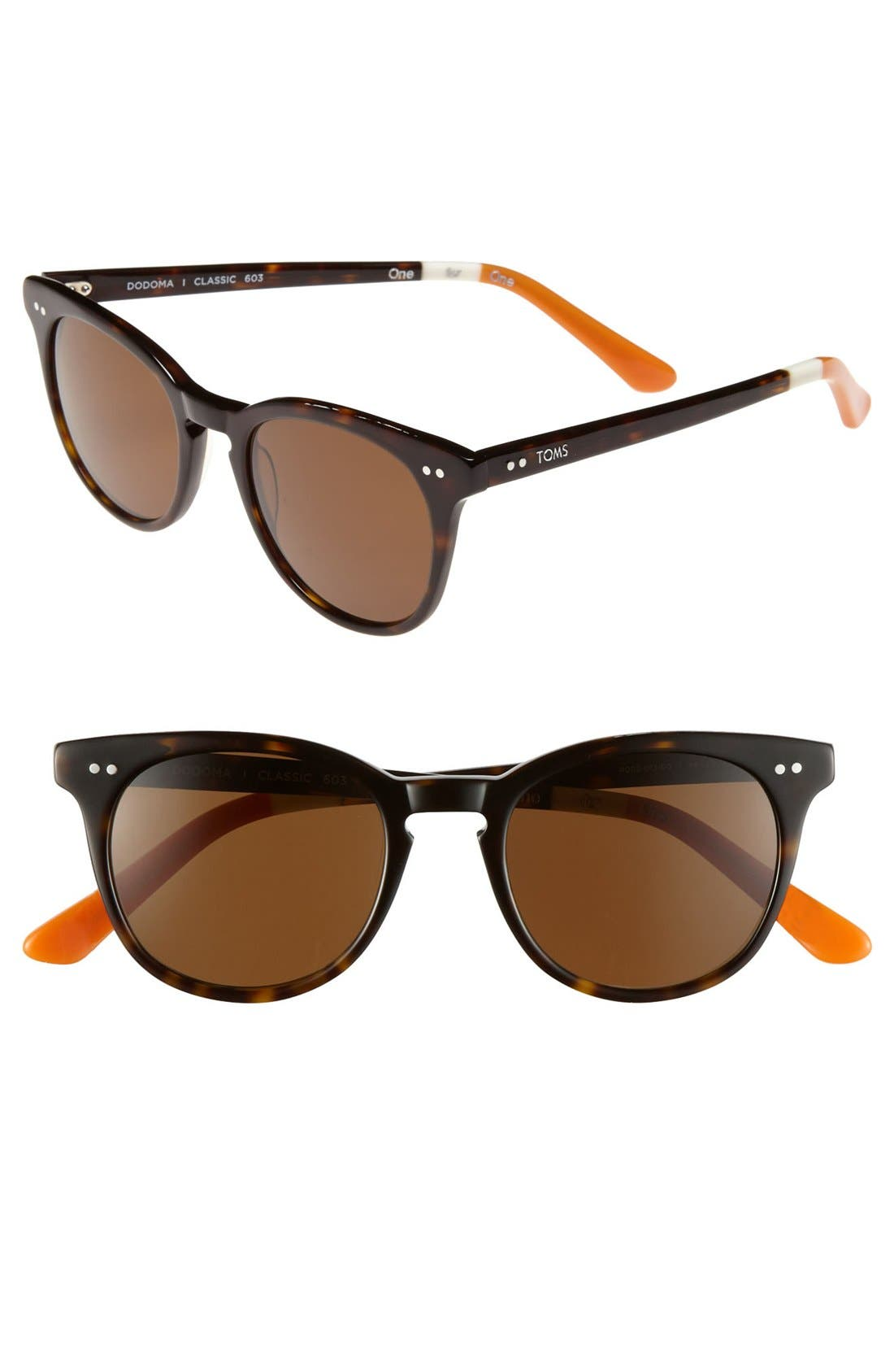 Main Image - TOMS 'Dodoma - Classic 603' Polarized 48mm Sunglasses