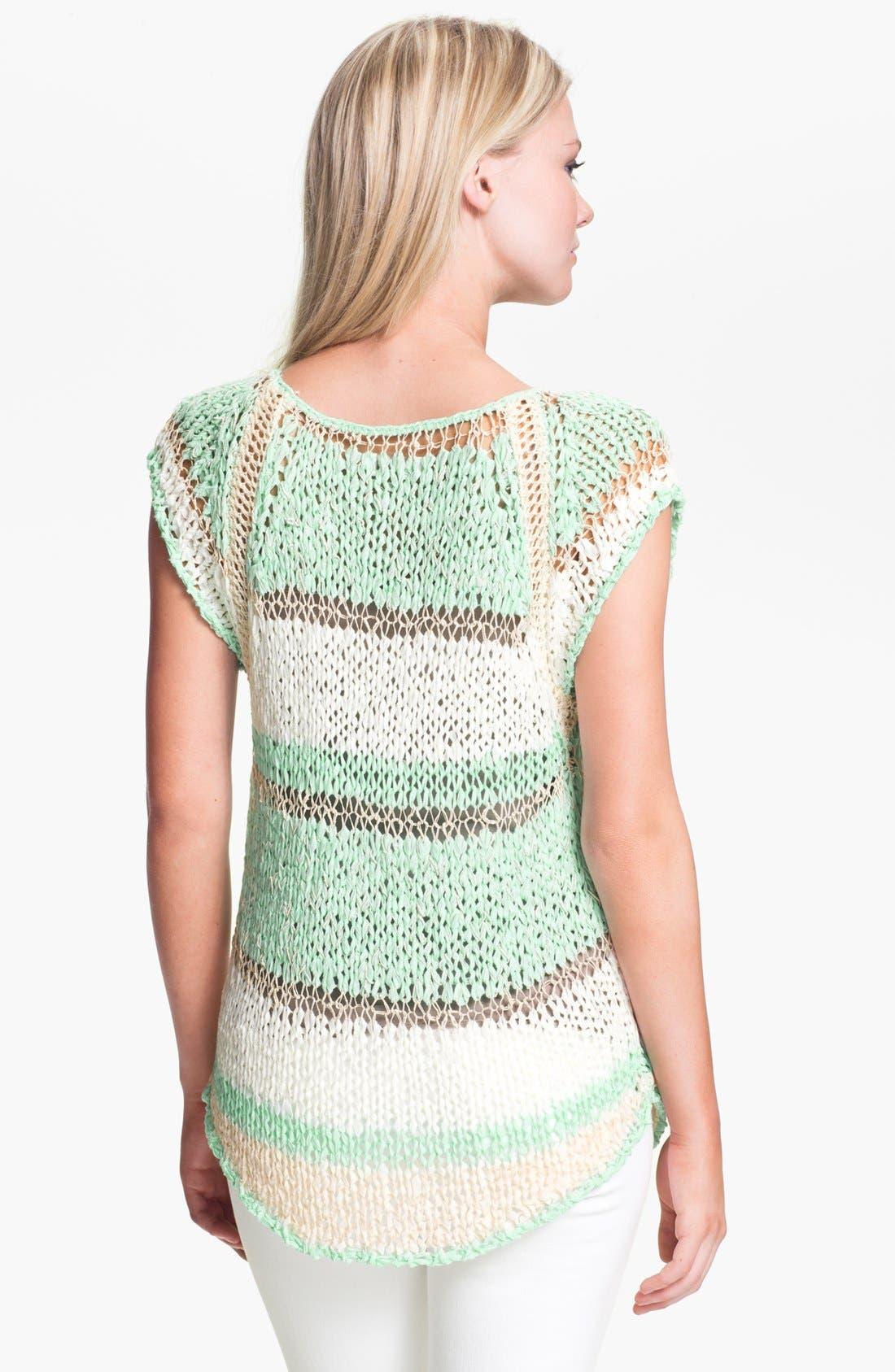 Alternate Image 2  - Hinge® Mixed Yarn Sweater