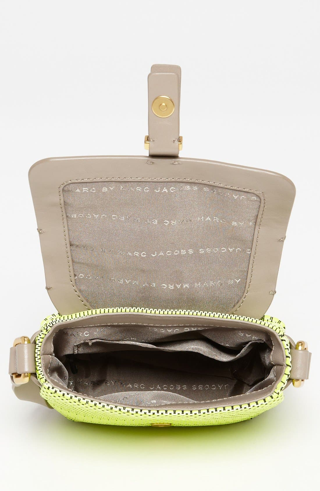Alternate Image 3  - MARC BY MARC JACOBS 'Werdie Weavy - Isabella' Faux Leather Crossbody Bag