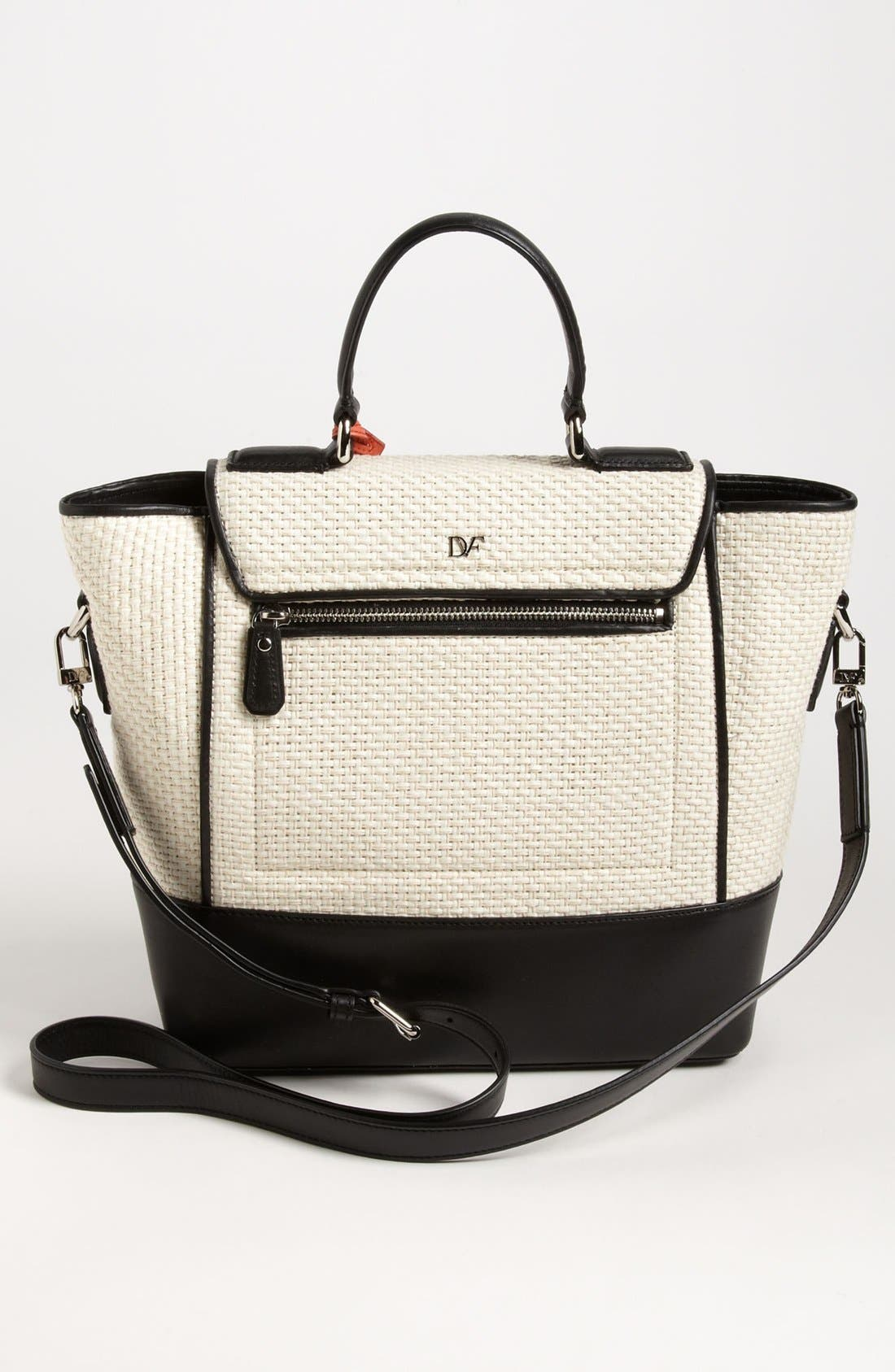 Alternate Image 4  - Diane von Furstenberg '440 Top Handle - Small' Tote