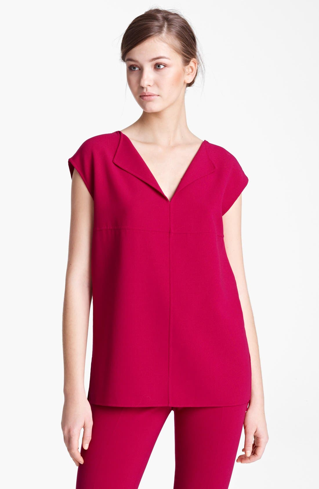 Alternate Image 1 Selected - Max Mara Stretch Wool Tunic