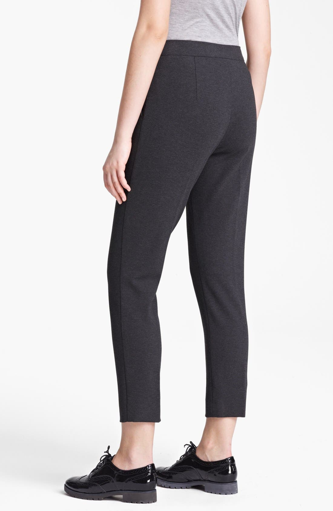 Alternate Image 2  - Max Mara Slim Jersey Pants