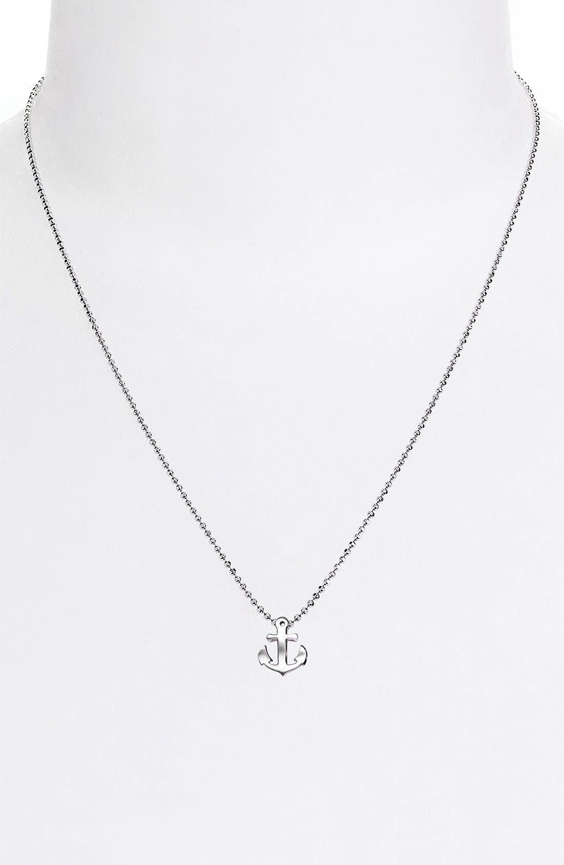 Alternate Image 3  - Alex Woo 'Little Seasons' Anchor Pendant Necklace