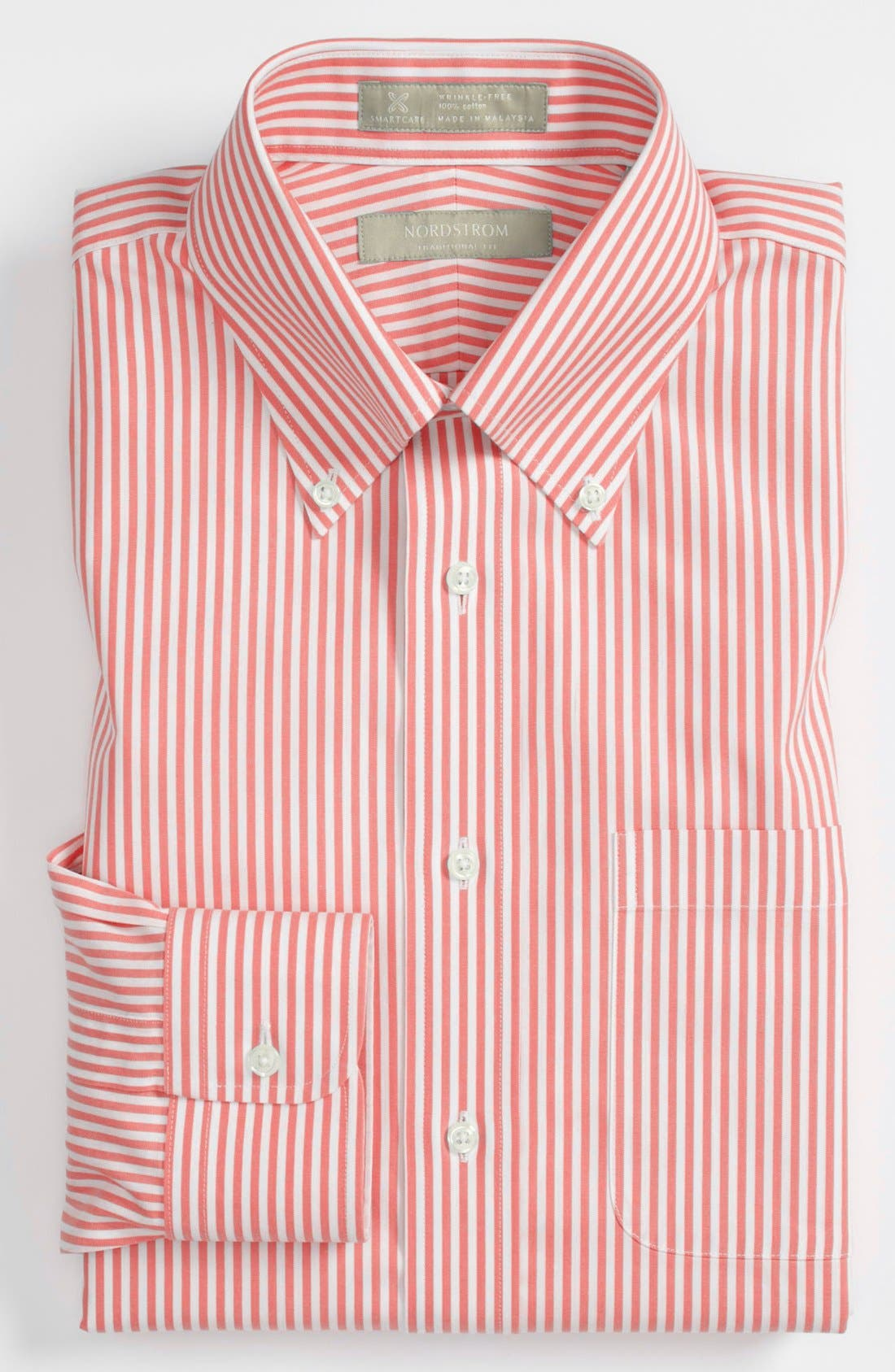 Main Image - Nordstrom Men's Shop Smartcare™ Traditional Fit Dress Shirt