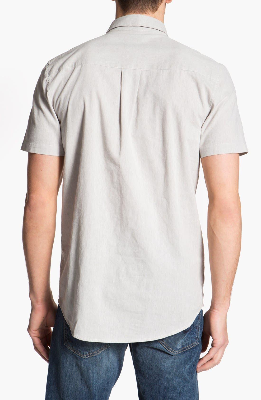 Alternate Image 2  - WeSC 'Channing' Pullover Woven Shirt