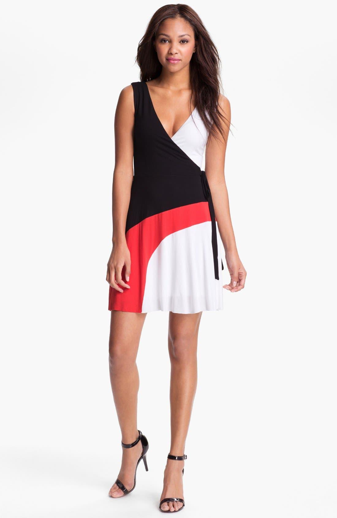 Main Image - B44 Dressed by Bailey 44 'Drag Race' Faux Wrap Dress