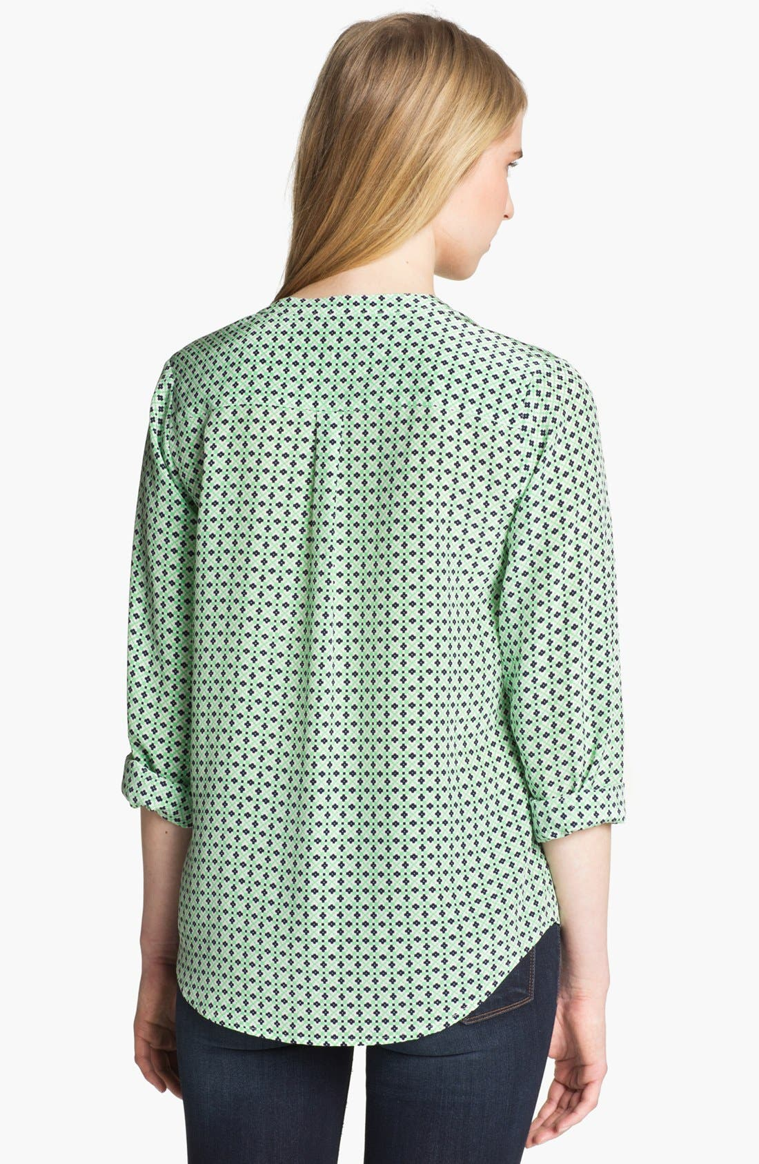 Alternate Image 2  - Joie 'Jira' Print Silk Top