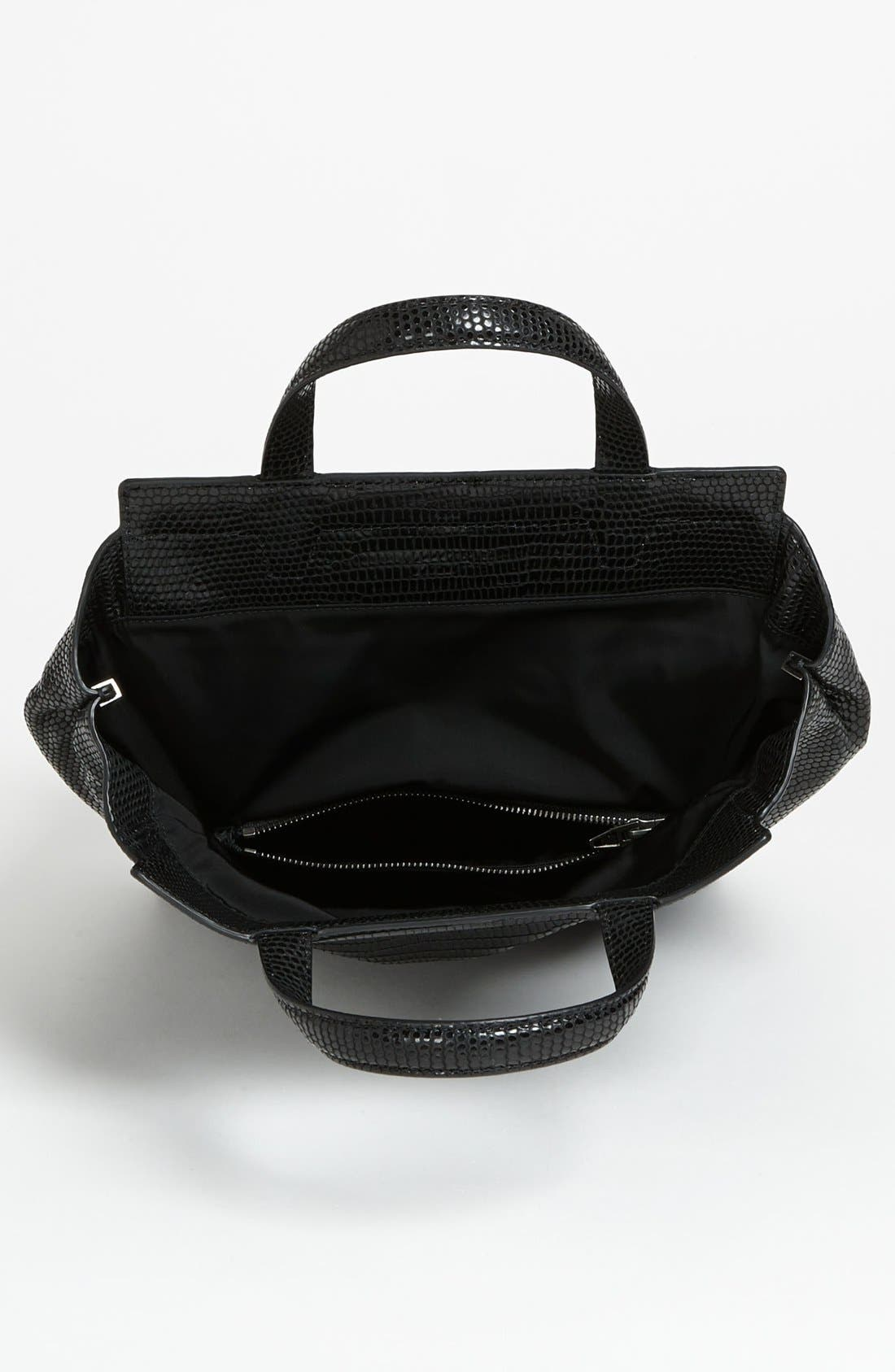 Alternate Image 3  - Alexander Wang 'Prisma - Skeletal Lunchbag' Lizard Embossed Foldover Satchel