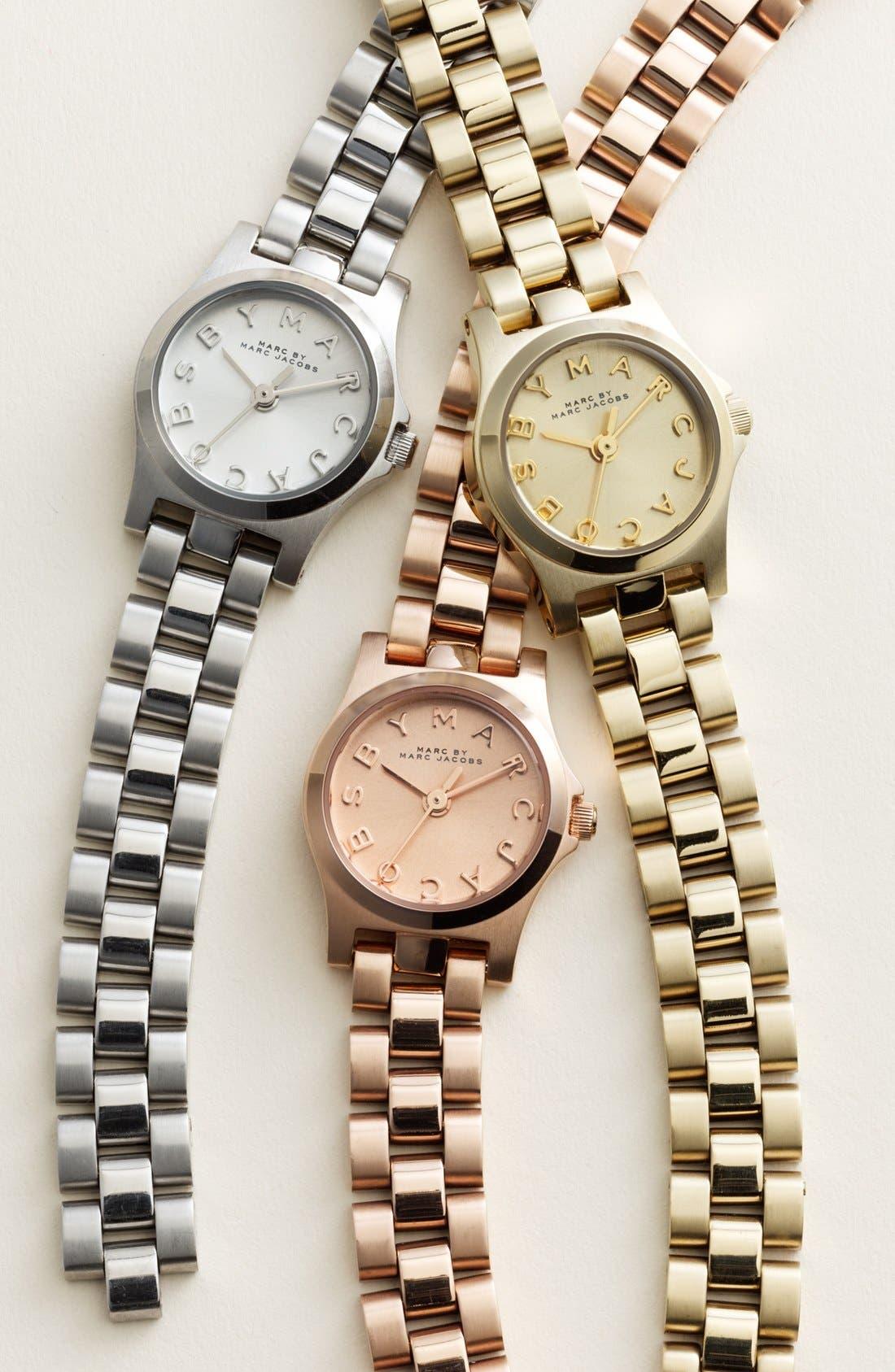 Alternate Image 4  - MARC JACOBS 'Henry Dinky' Bracelet Watch, 20mm