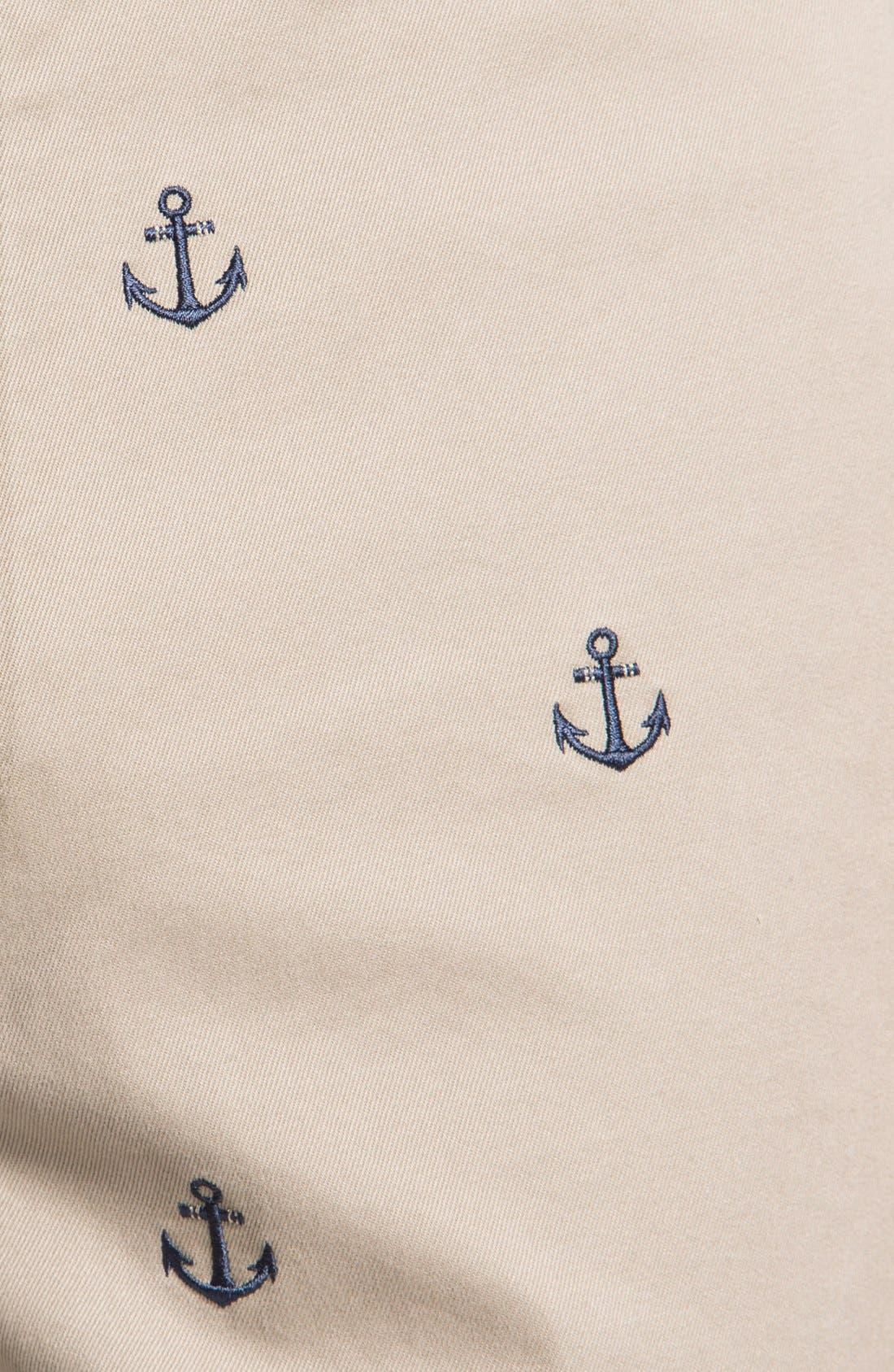 Alternate Image 3  - Vineyard Vines 'Embroidered Anchor' Shorts