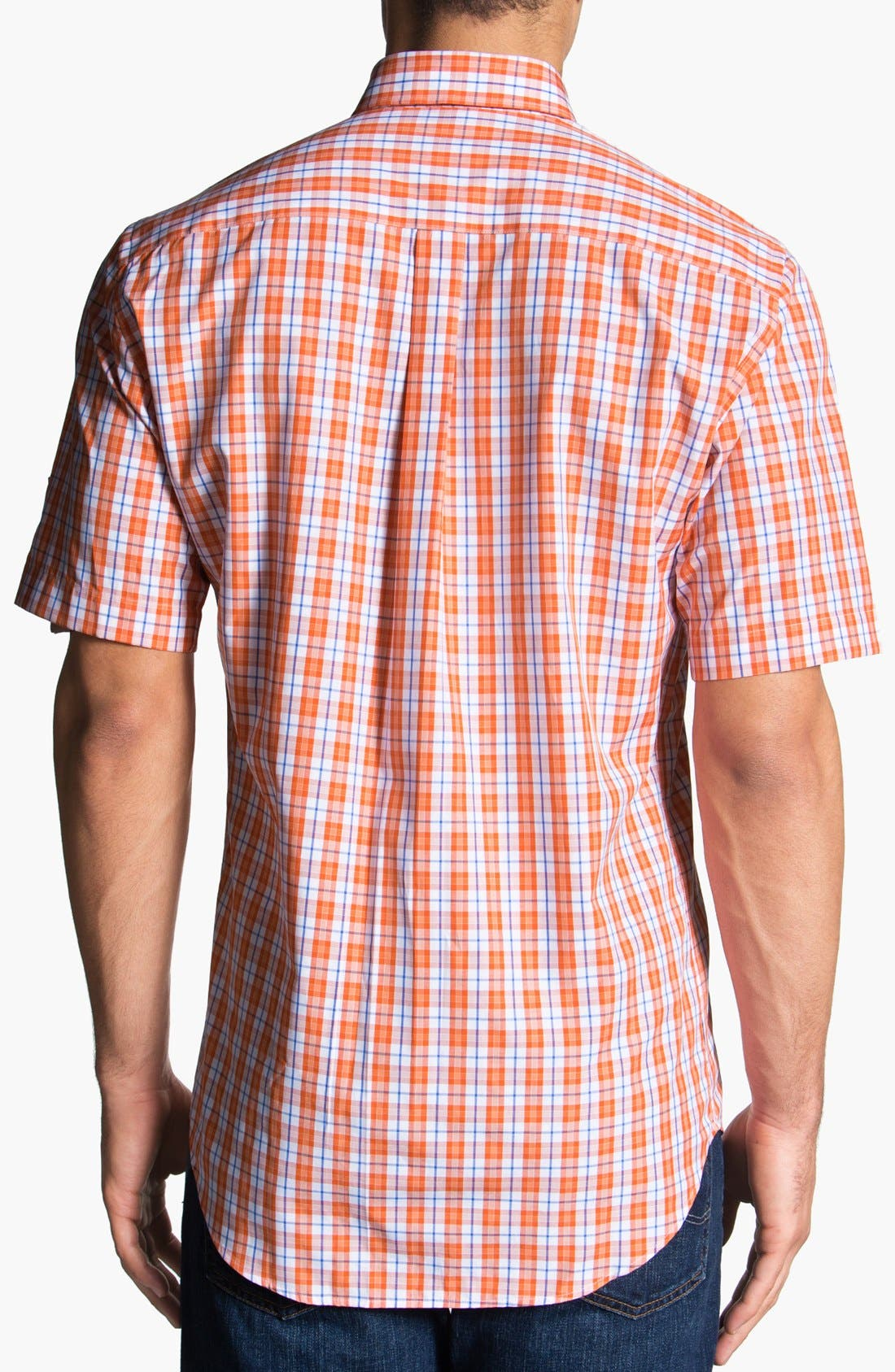 Alternate Image 2  - Peter Millar 'Copenhagen' Regular Fit Check Sport Shirt.