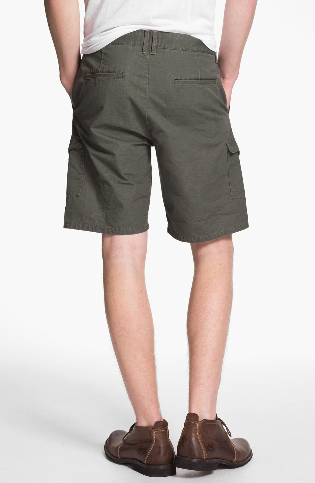 Alternate Image 4  - Topman Cargo Shorts