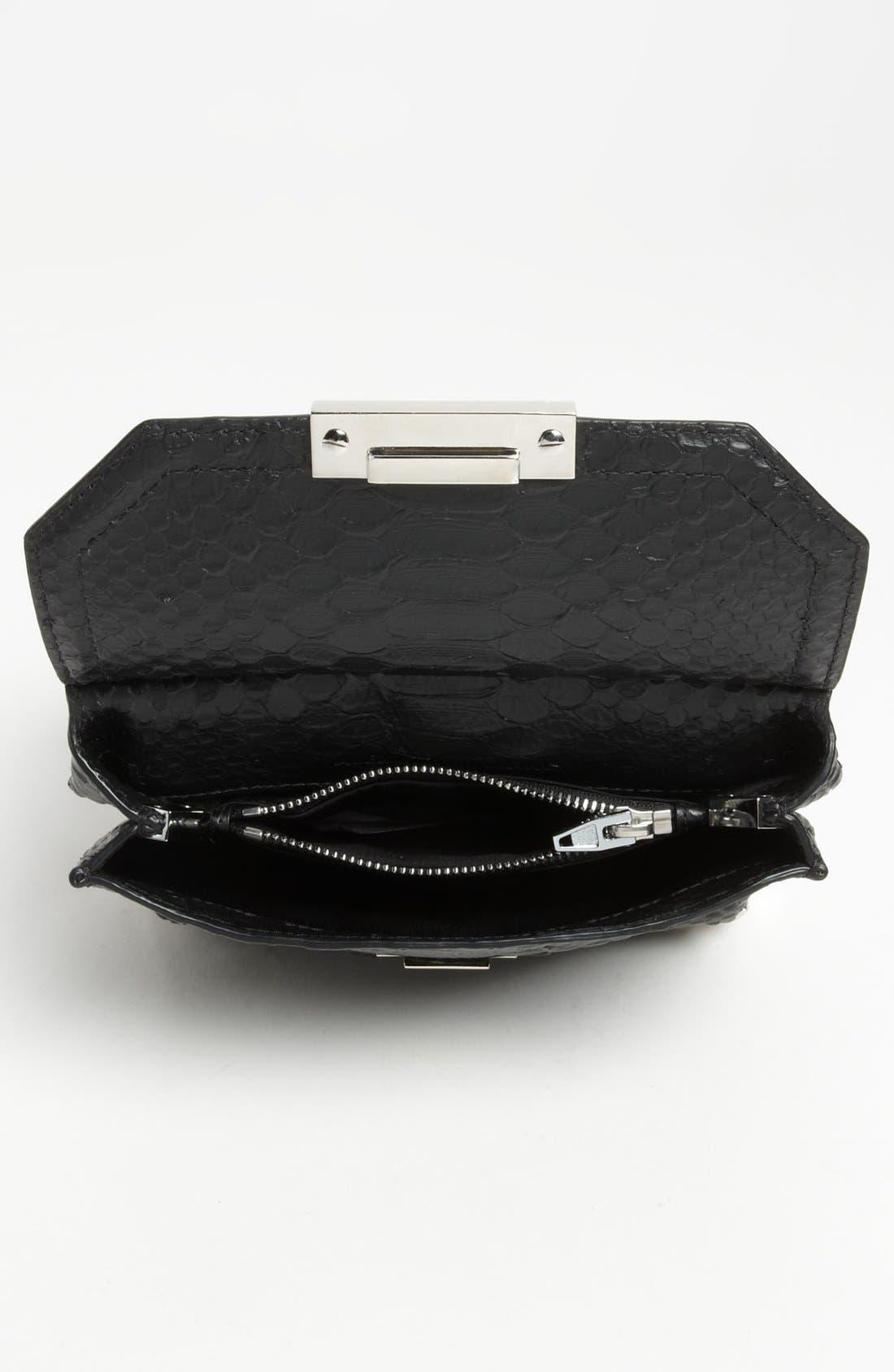 Alternate Image 3  - Alexander Wang 'Marion - Prisma' Python Embossed Leather Crossbody Bag
