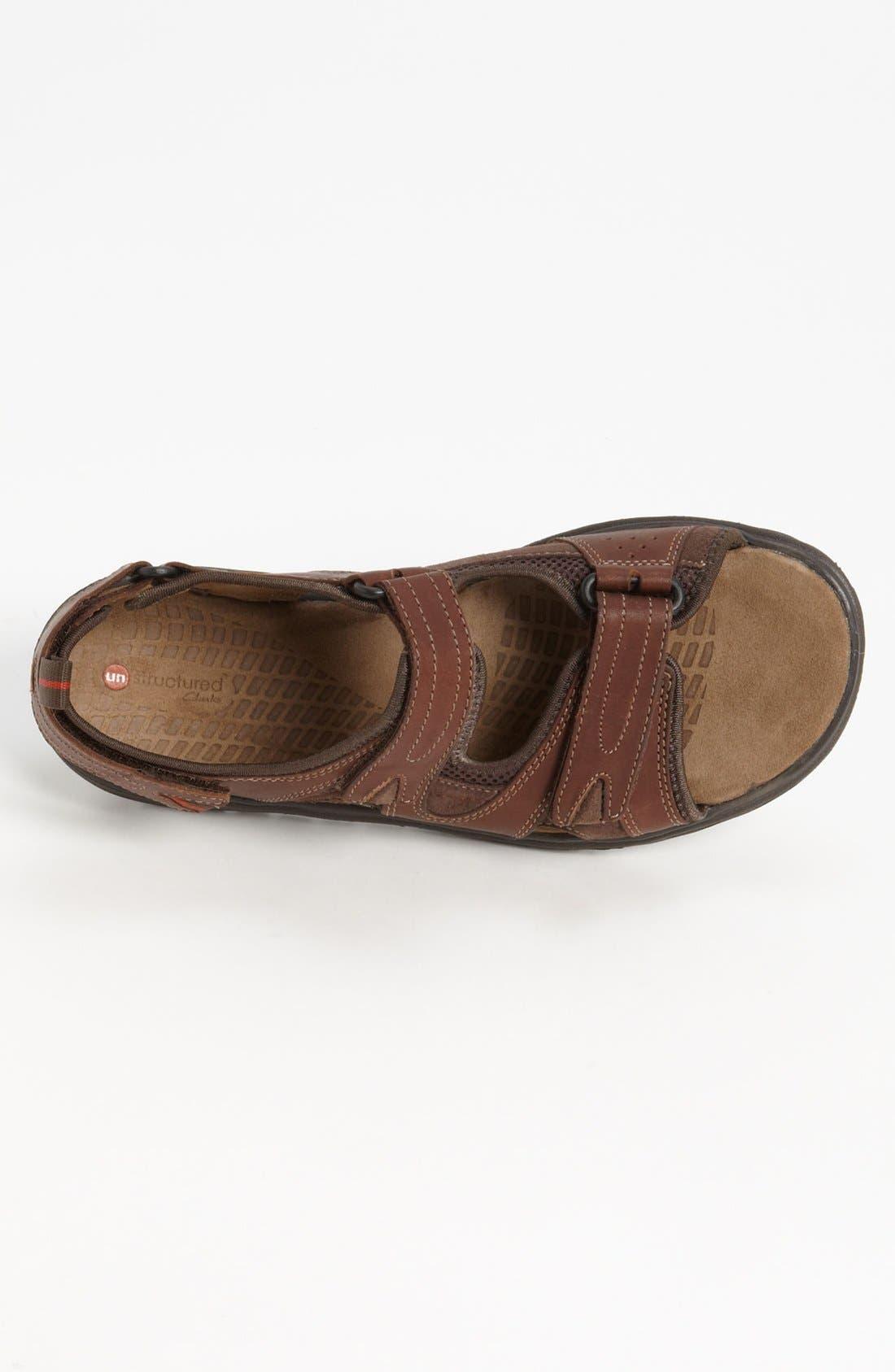 Alternate Image 3  - Clarks® 'Unstructured - Caicos' Sandal   (Men)