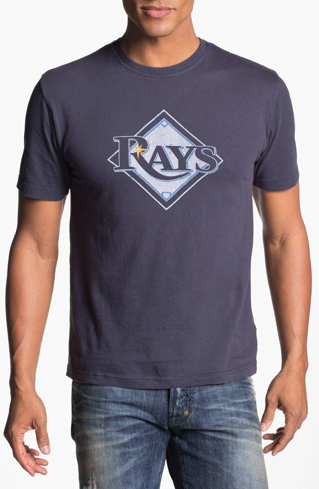 Main Image - Red Jacket 'Tampa Bay Rays' Trim Fit T-Shirt (Men)