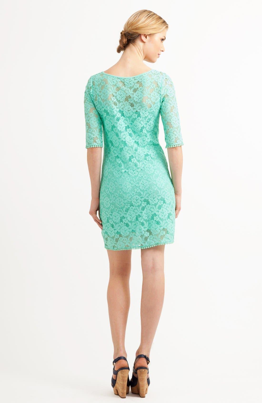 Alternate Image 2  - Three Dots Lace Shift Dress