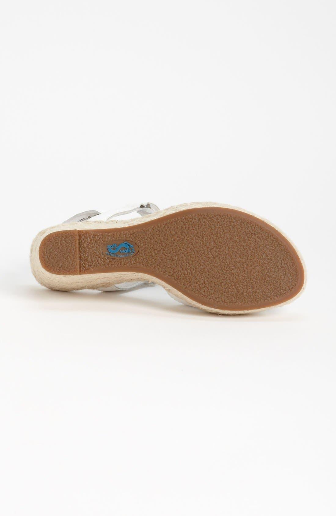 Alternate Image 4  - SoftWalk® 'San Marino' Sandal